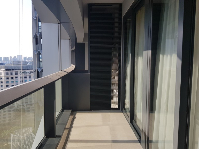 duo residences balcony