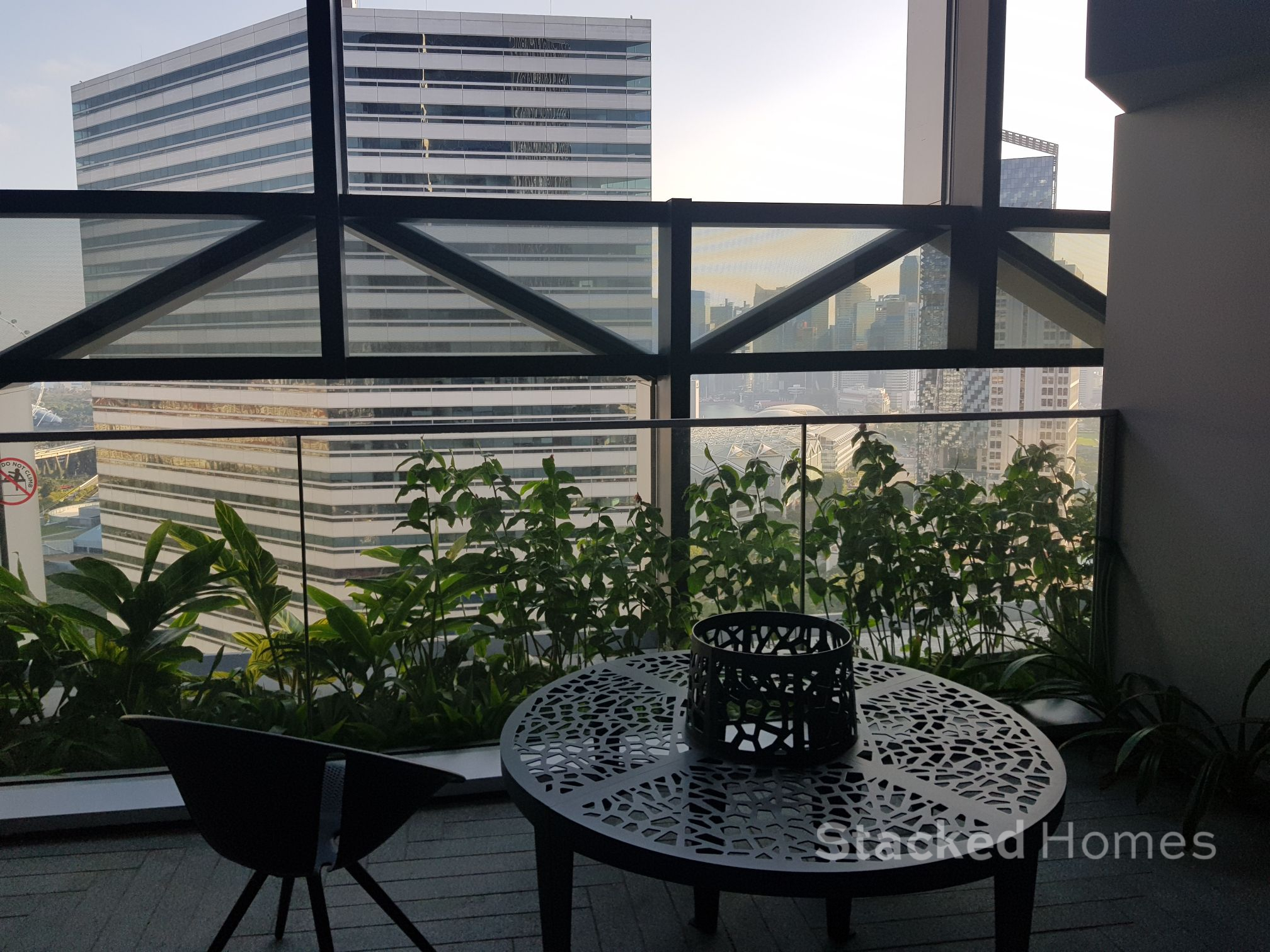 Duo Residences sitting area