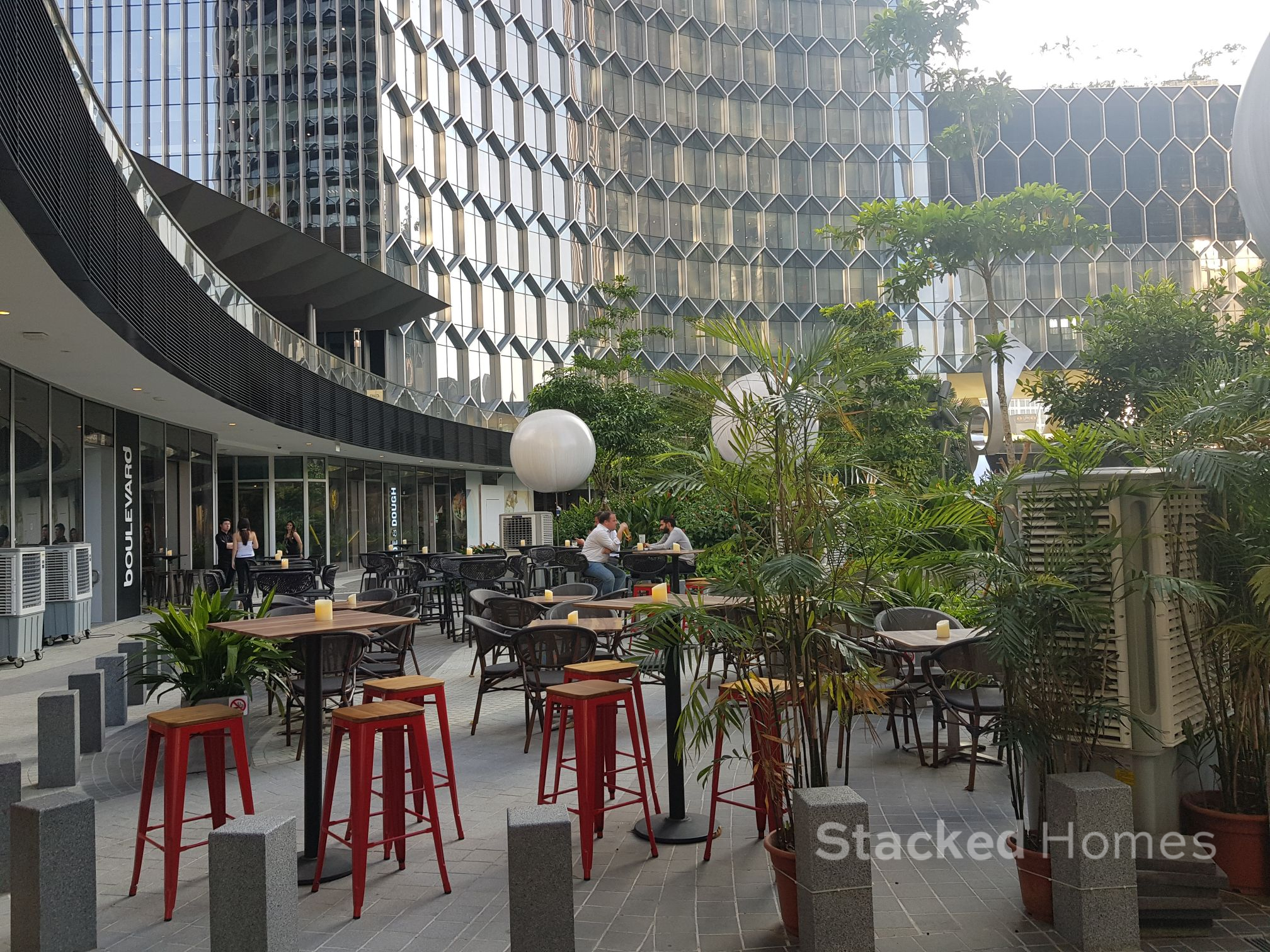 Duo Residences Review cafeteria