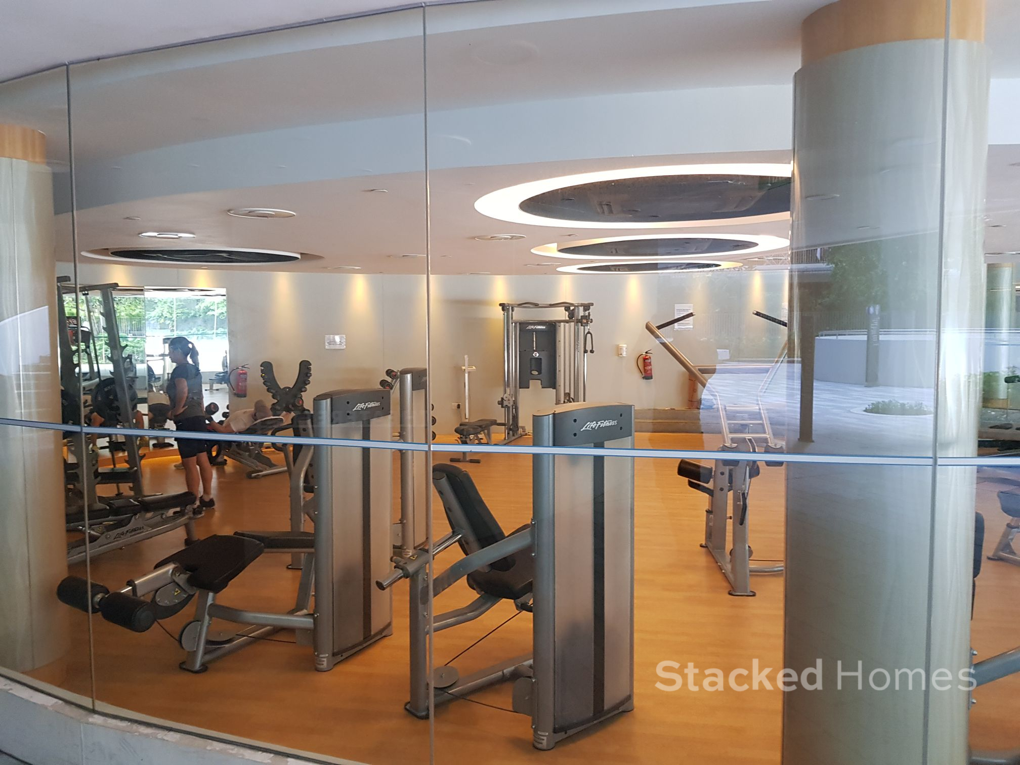 the interlace condo gym