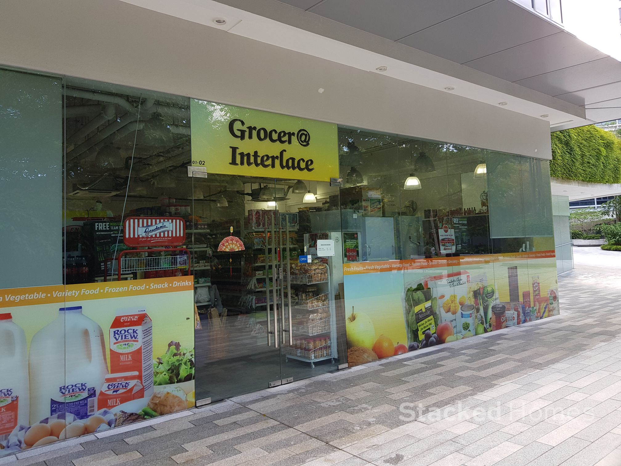 the interlace condo grocer