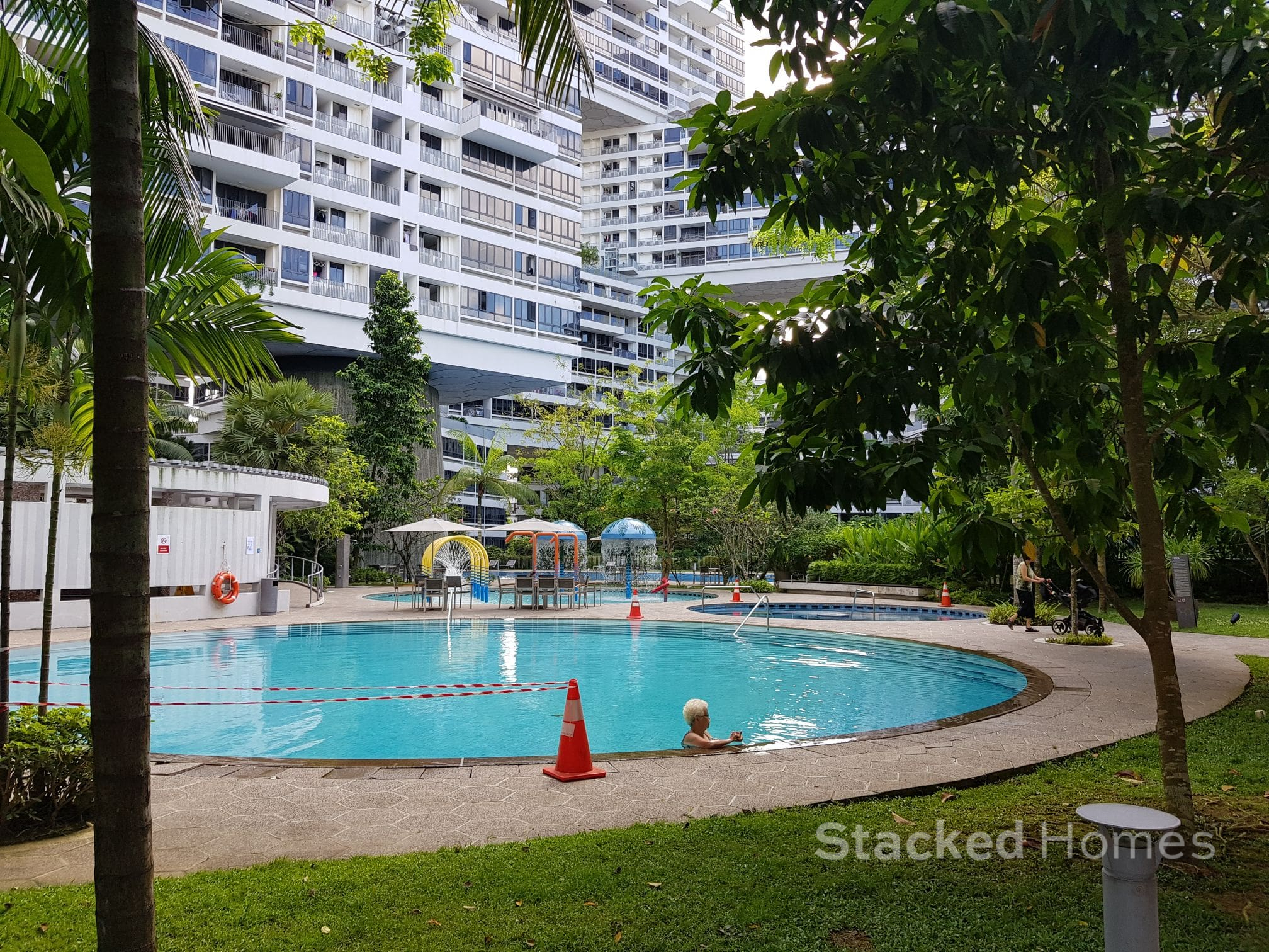 the interlace condo pool
