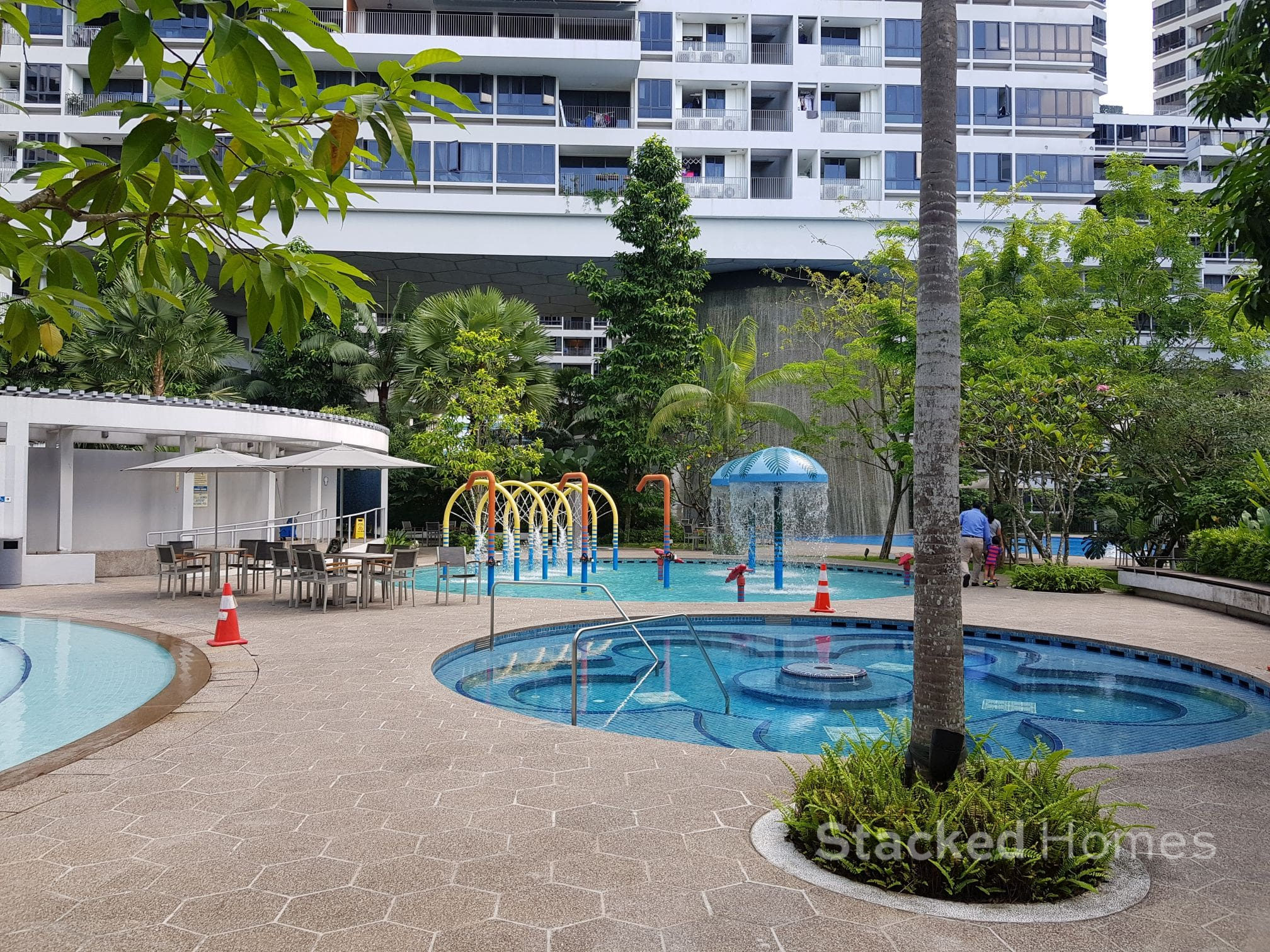the interlace condo children pool