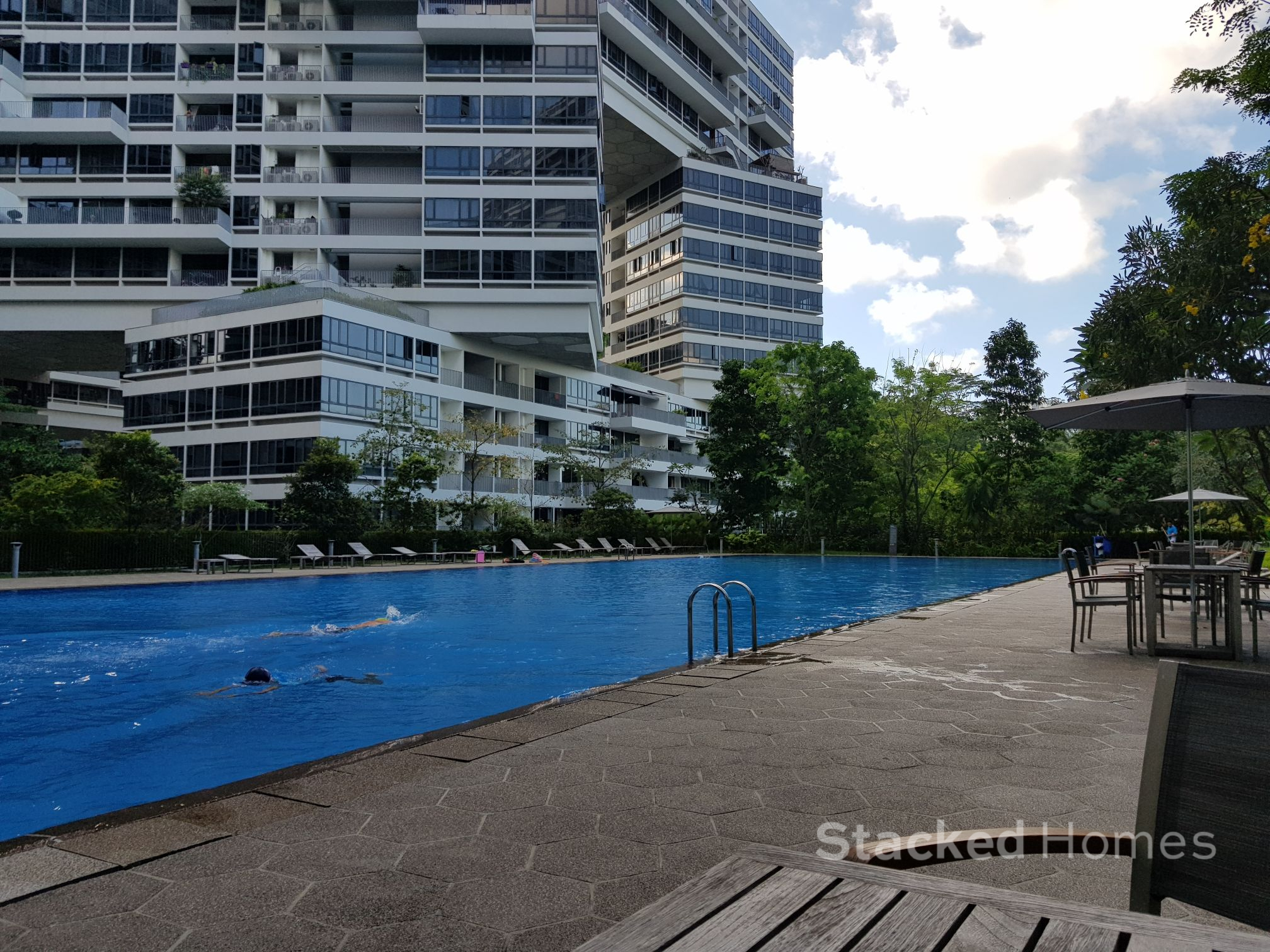 interlace condo review lap pool