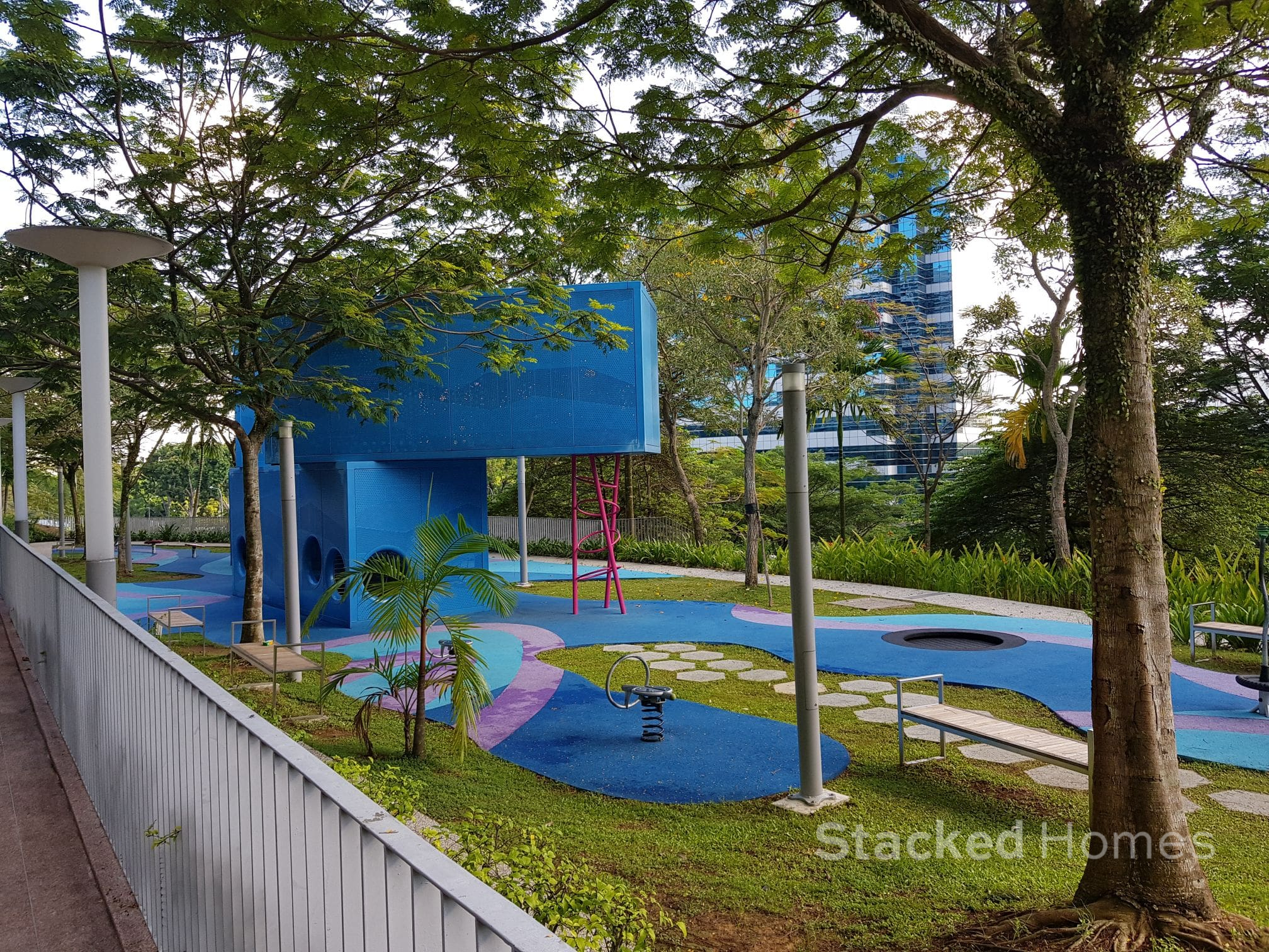 the interlace condo playground
