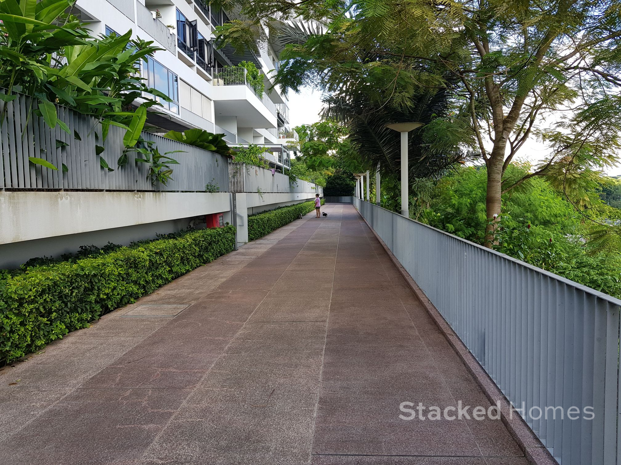 the interlace jogging track