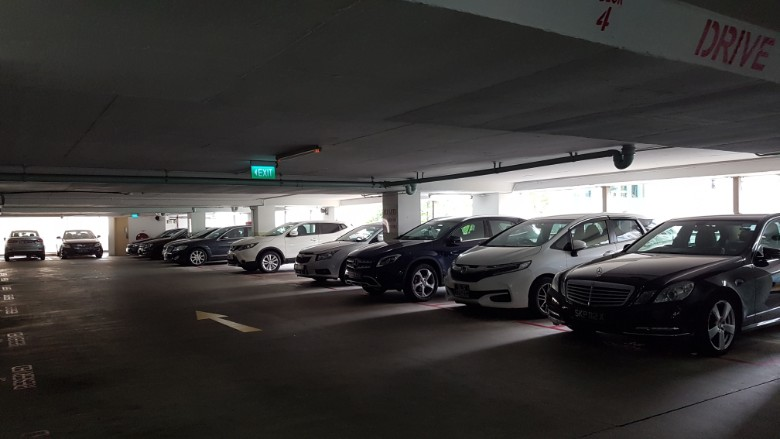 orchard towers carpark
