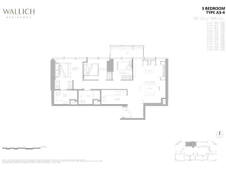 wallich residence 3 bedroom