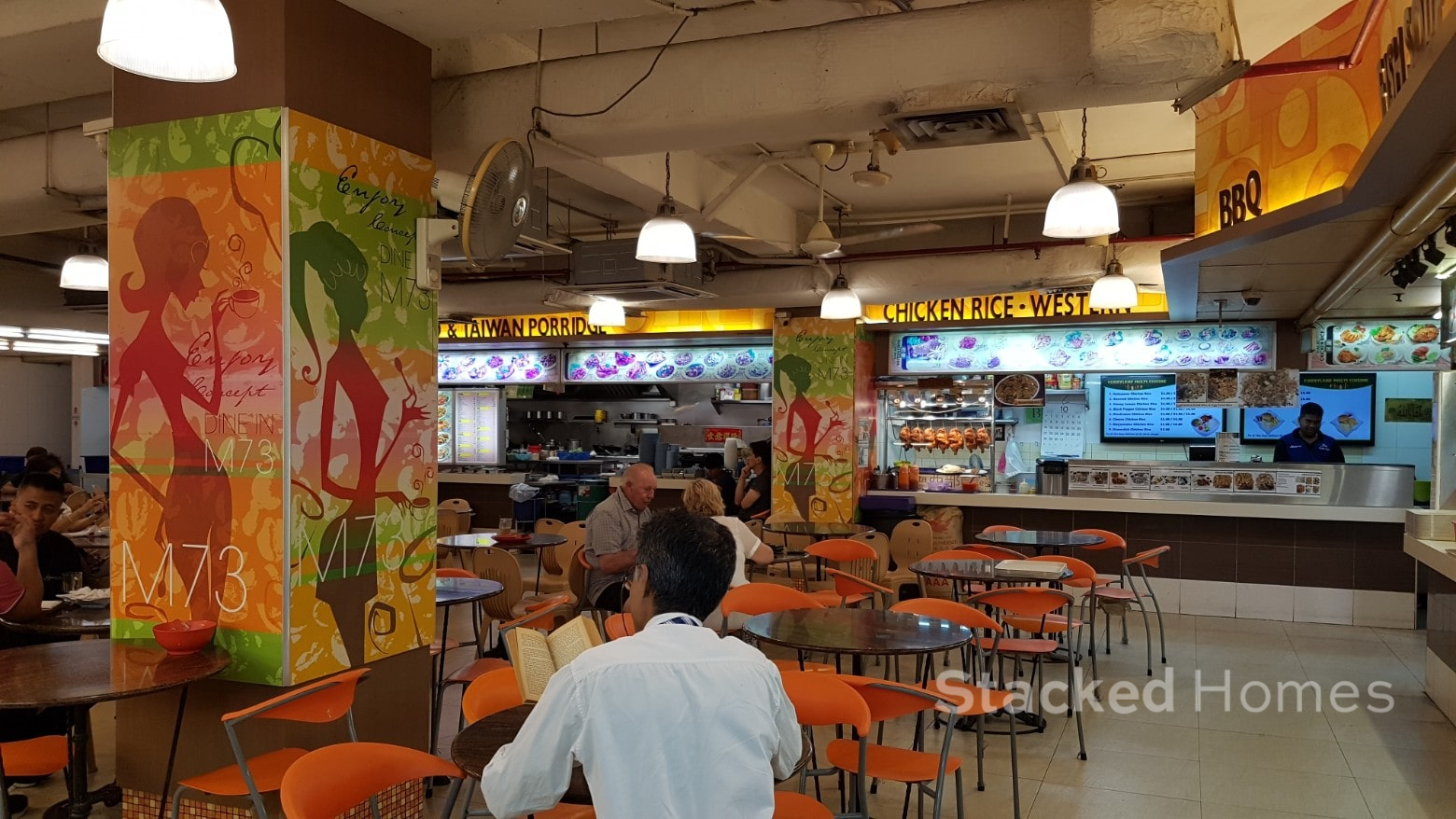 M73 Food Court Orchard Towers