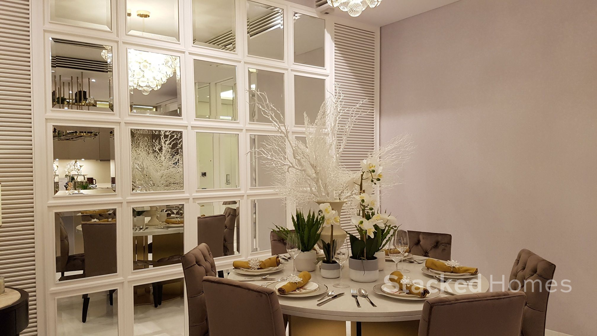 south beach residences dining room