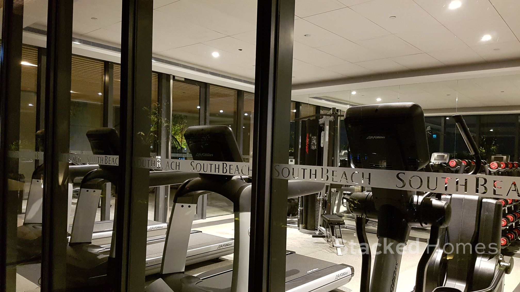 south beach residences gym