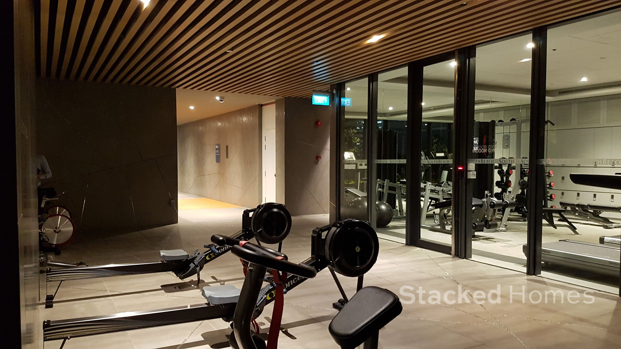 south beach residences outdoor gym