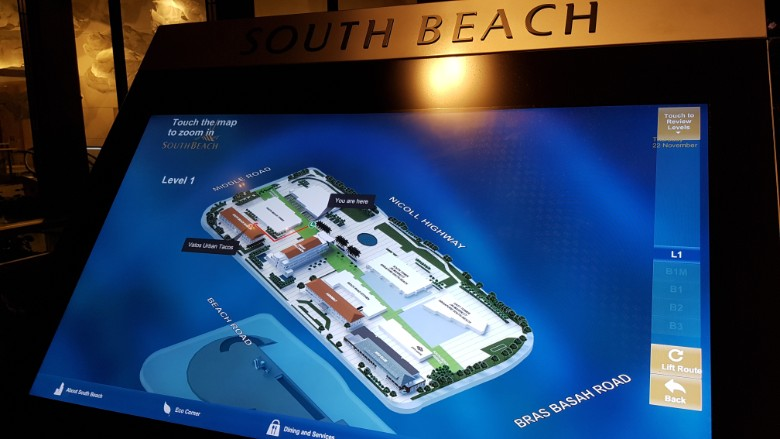 south beach residences layout