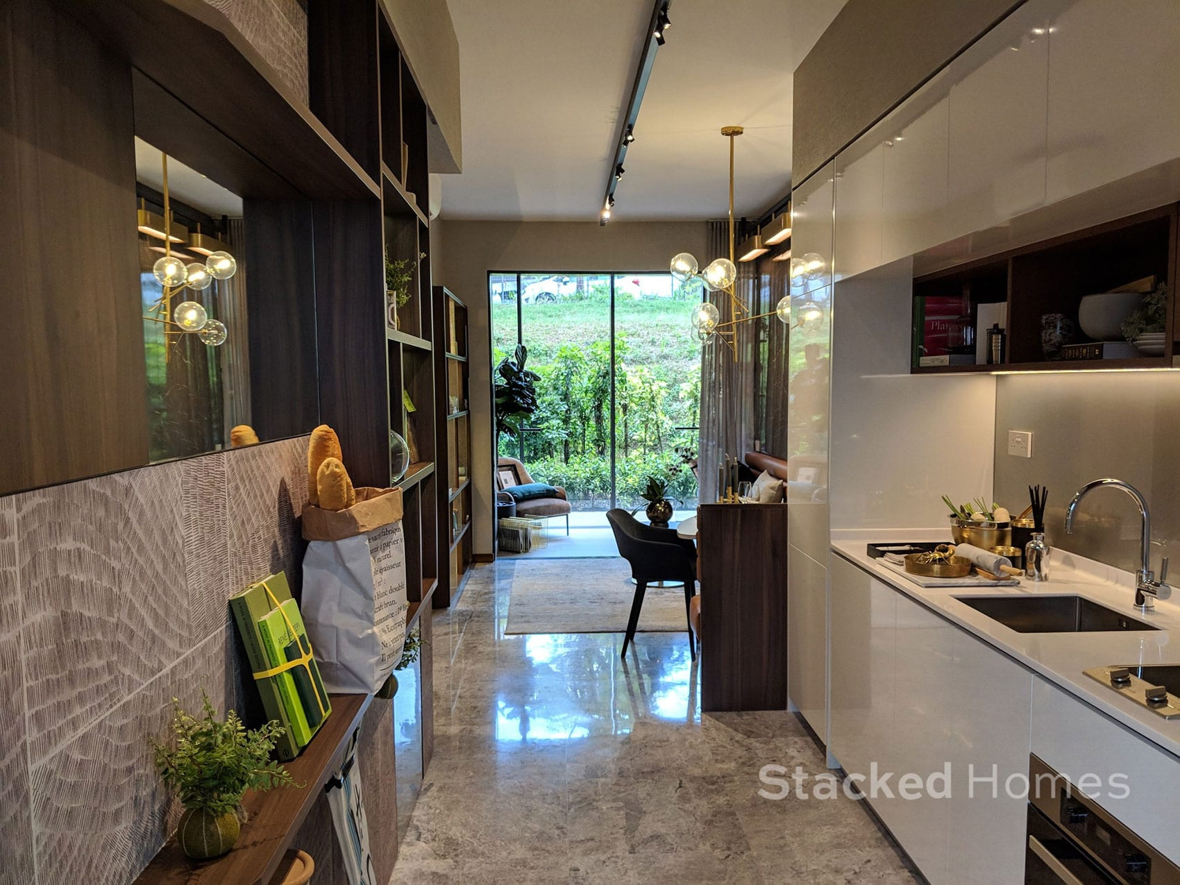 fourth avenue residences 1 bedroom living