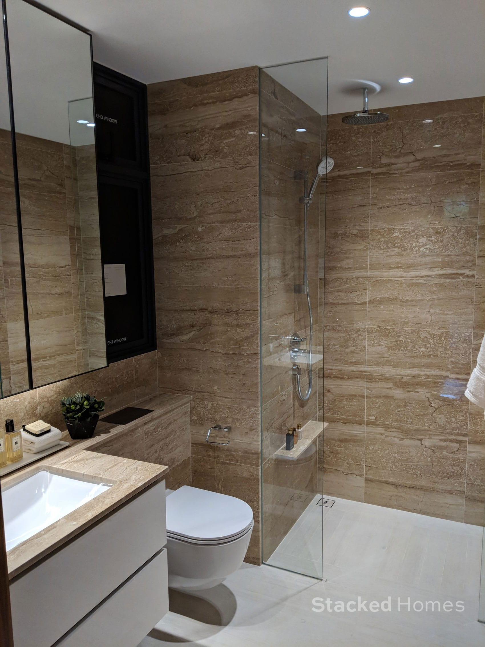 fourth avenue residences 3 bedroom toilet