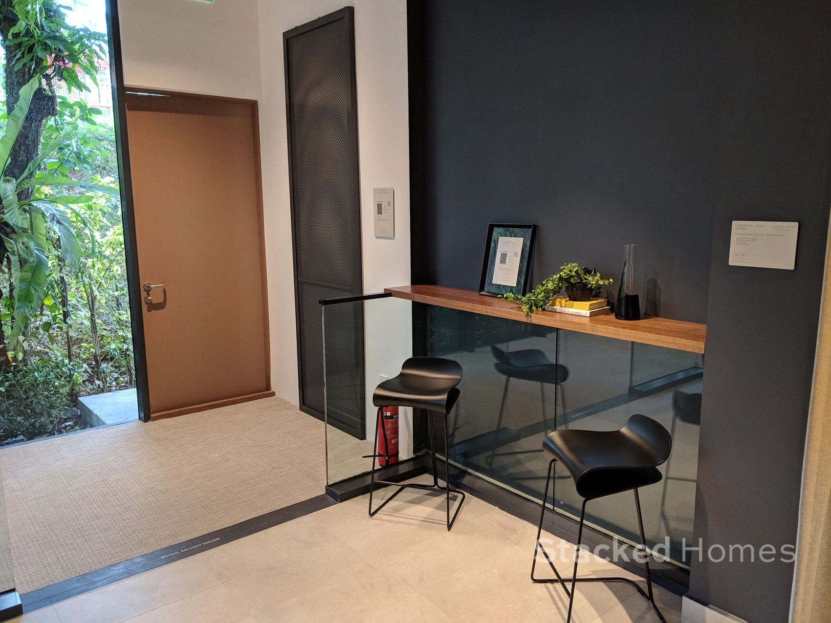 fourth avenue residences 3 bedroom balcony