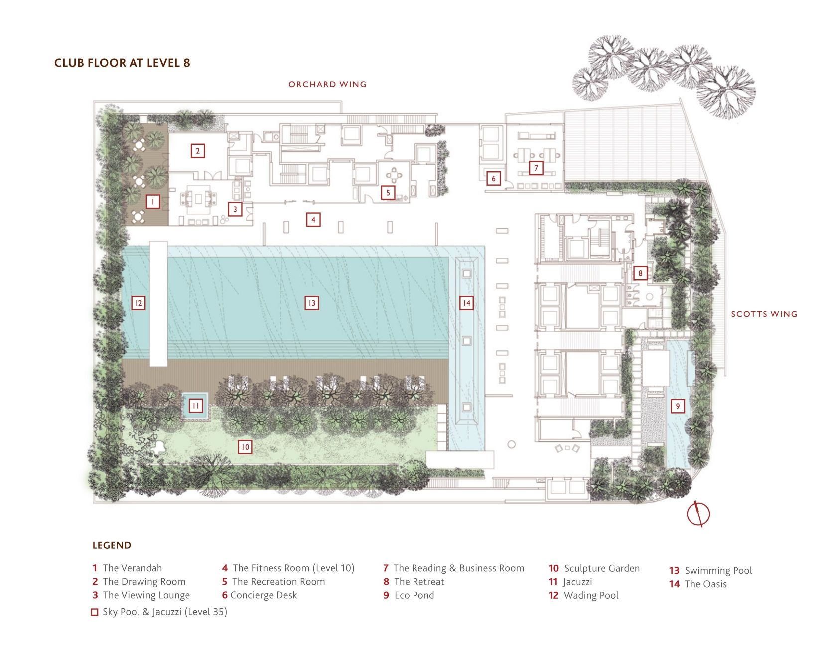 scotts square condo site map