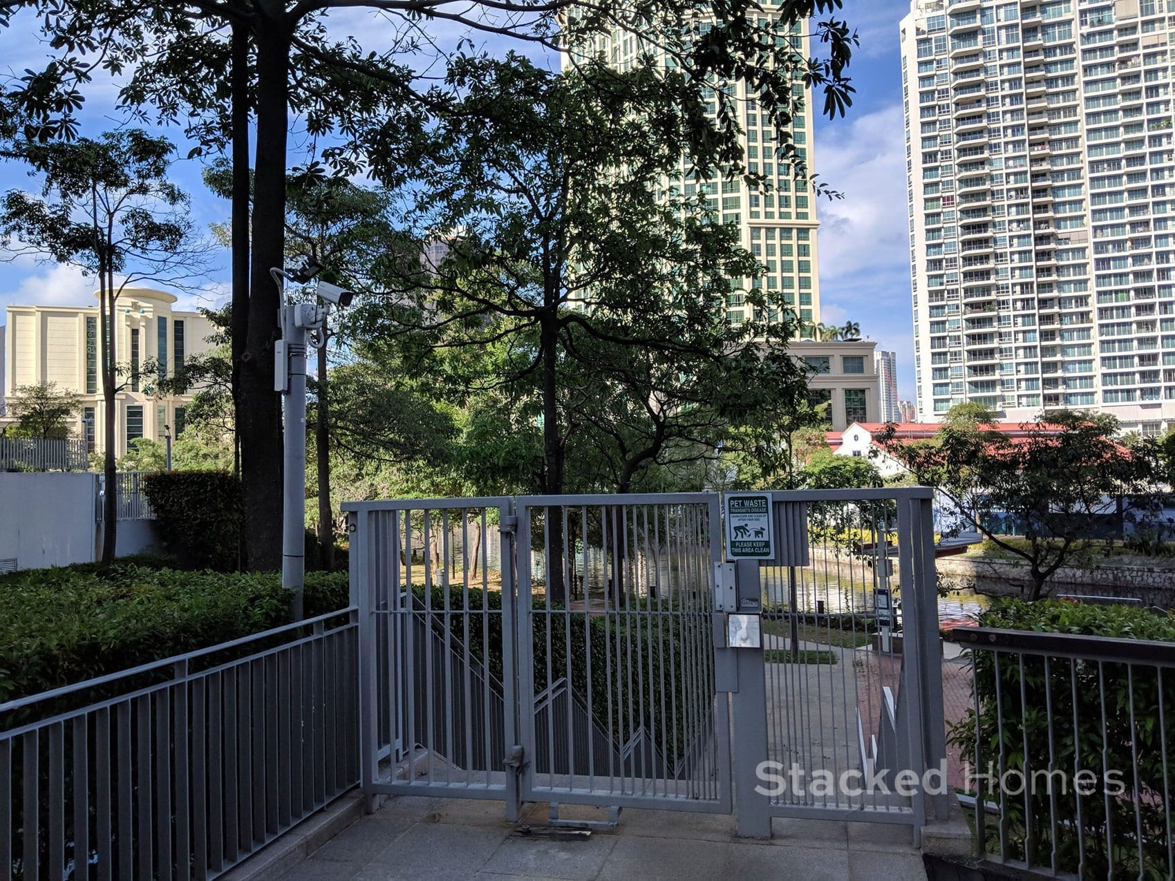 rivergate condo access gate