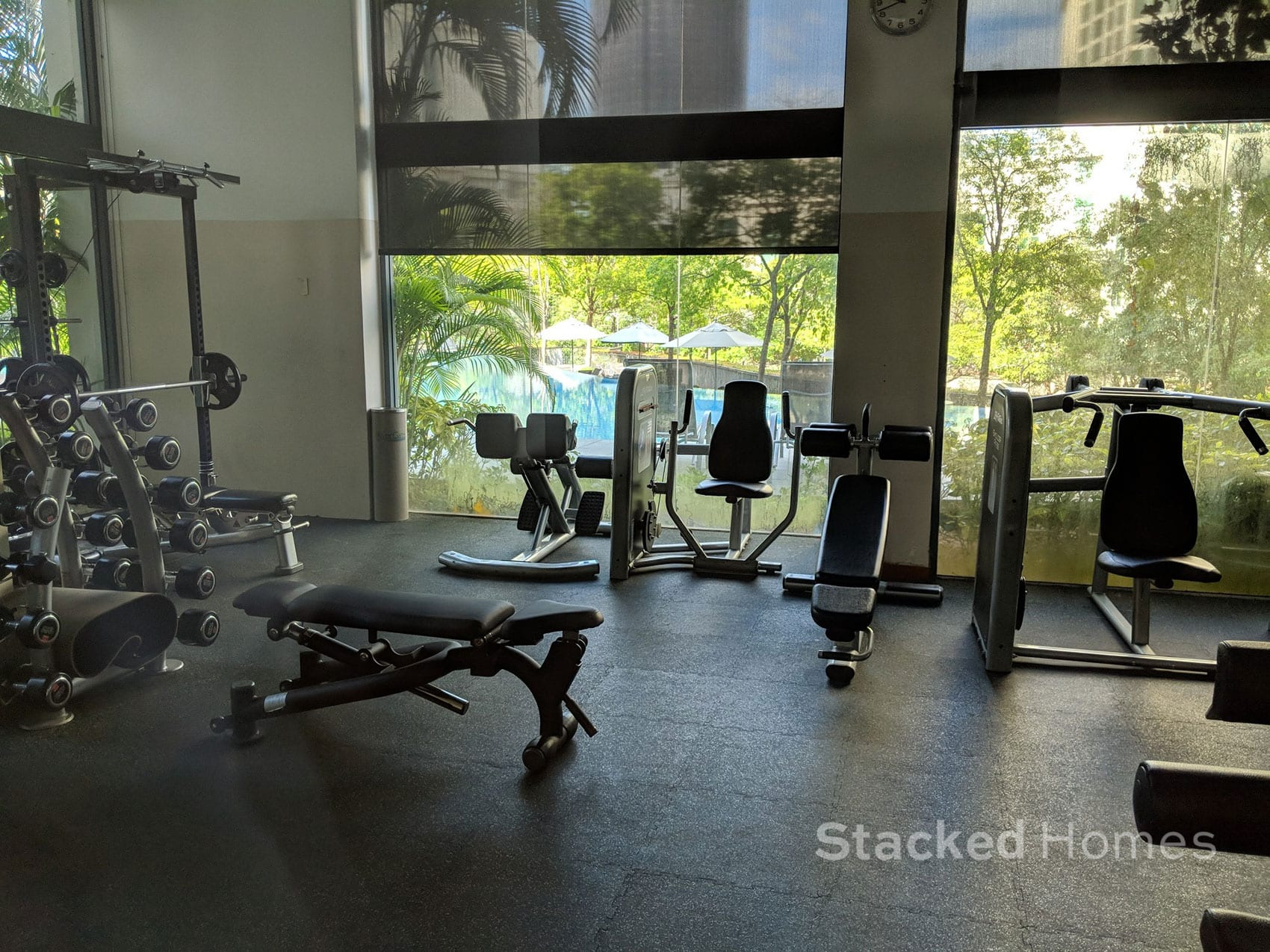 rivergate condo gym