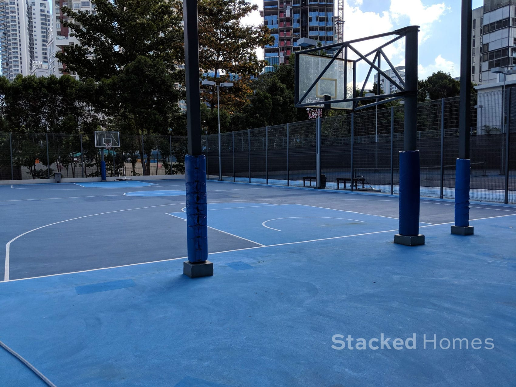 rivergate condo basketball court