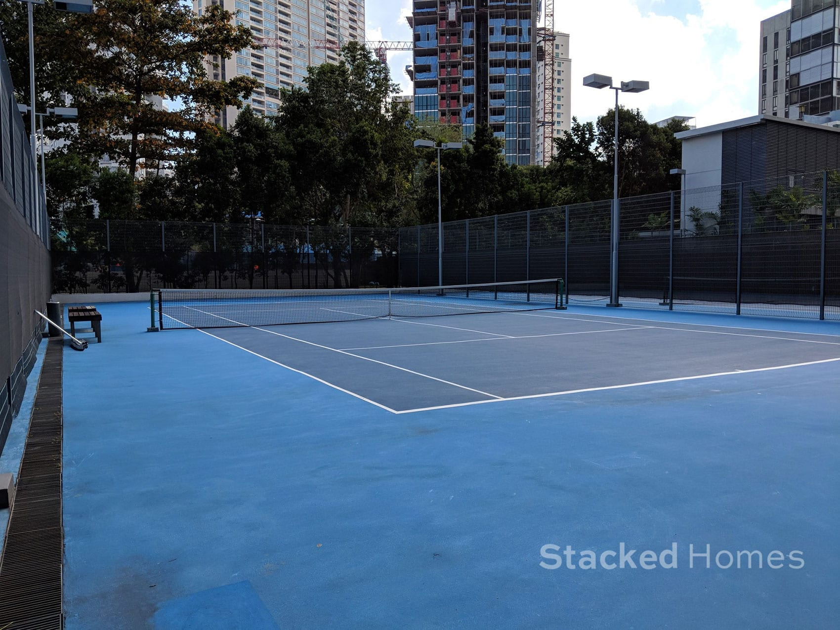 rivergate condo tennis court