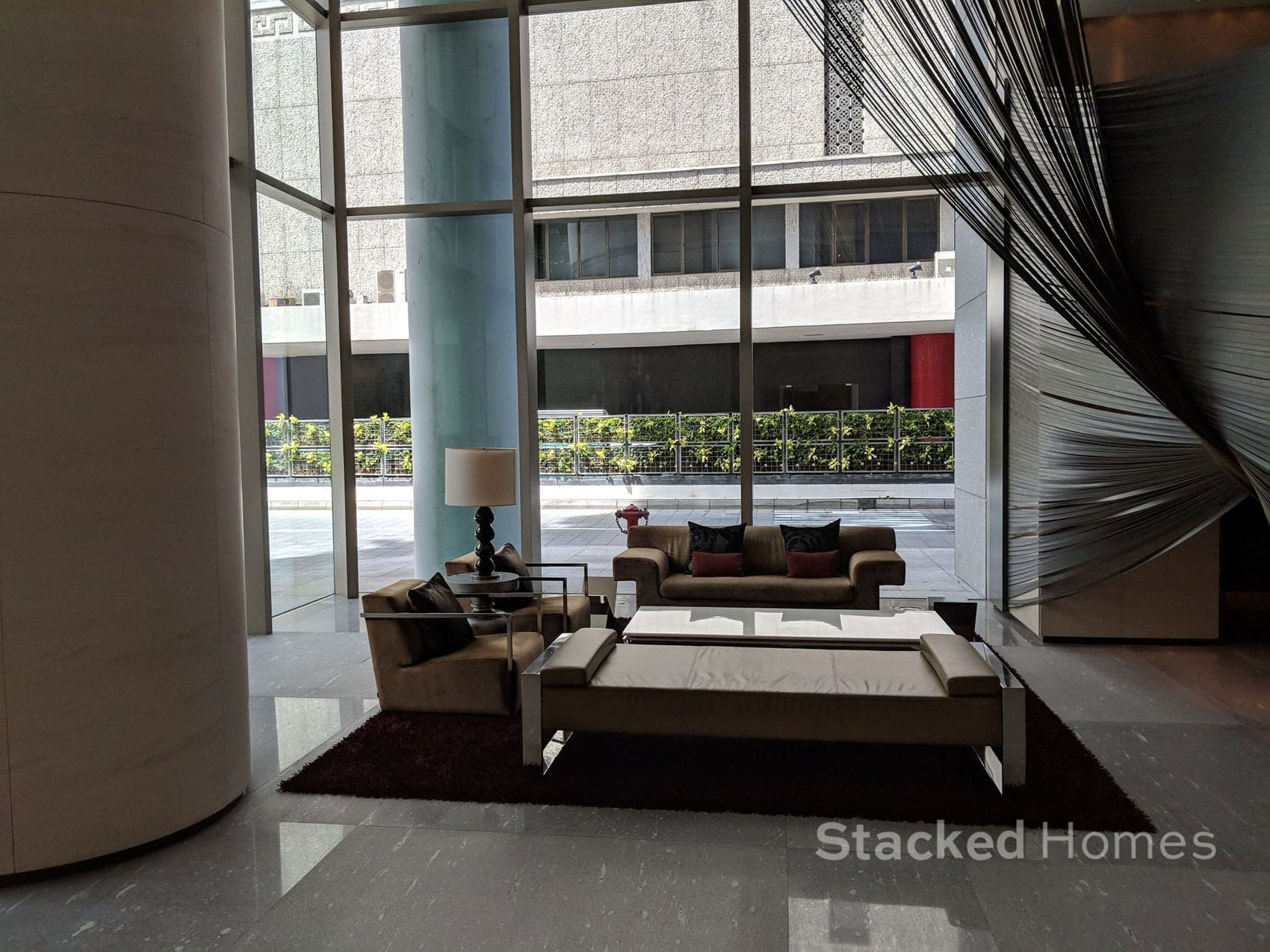 scotts square condo lobby