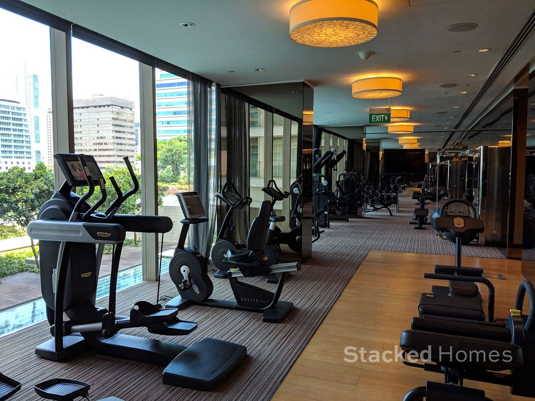 scotts square condo gym