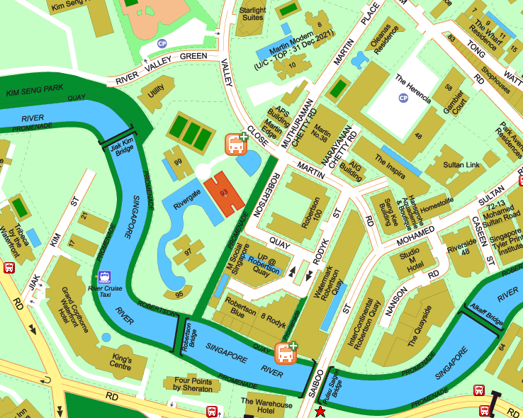 rivergate condo site map
