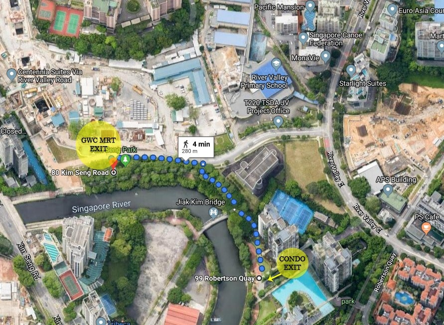 proximity to great world city mrt