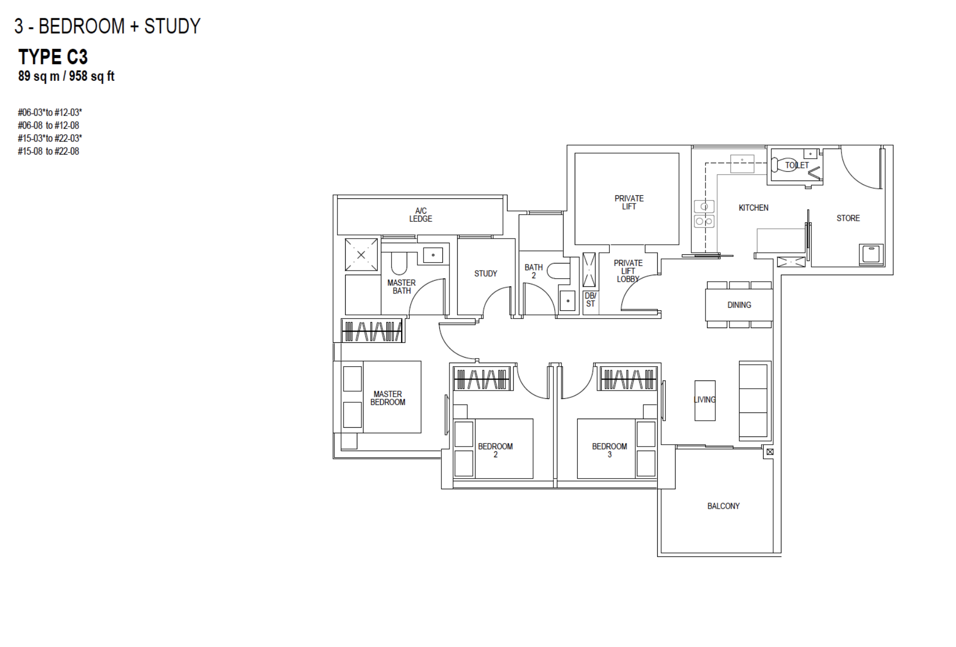 sky everton review 3 bedroom floor plan