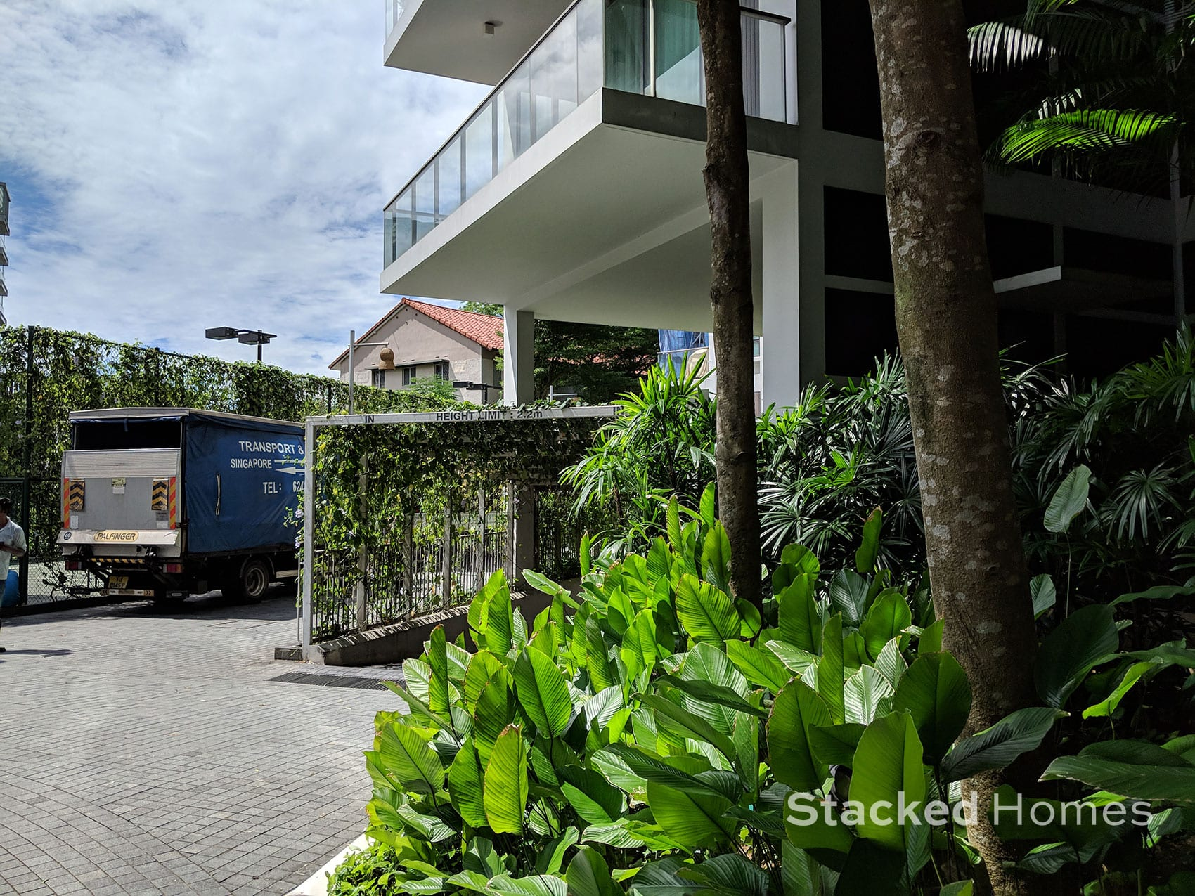 belle vue residences entrance