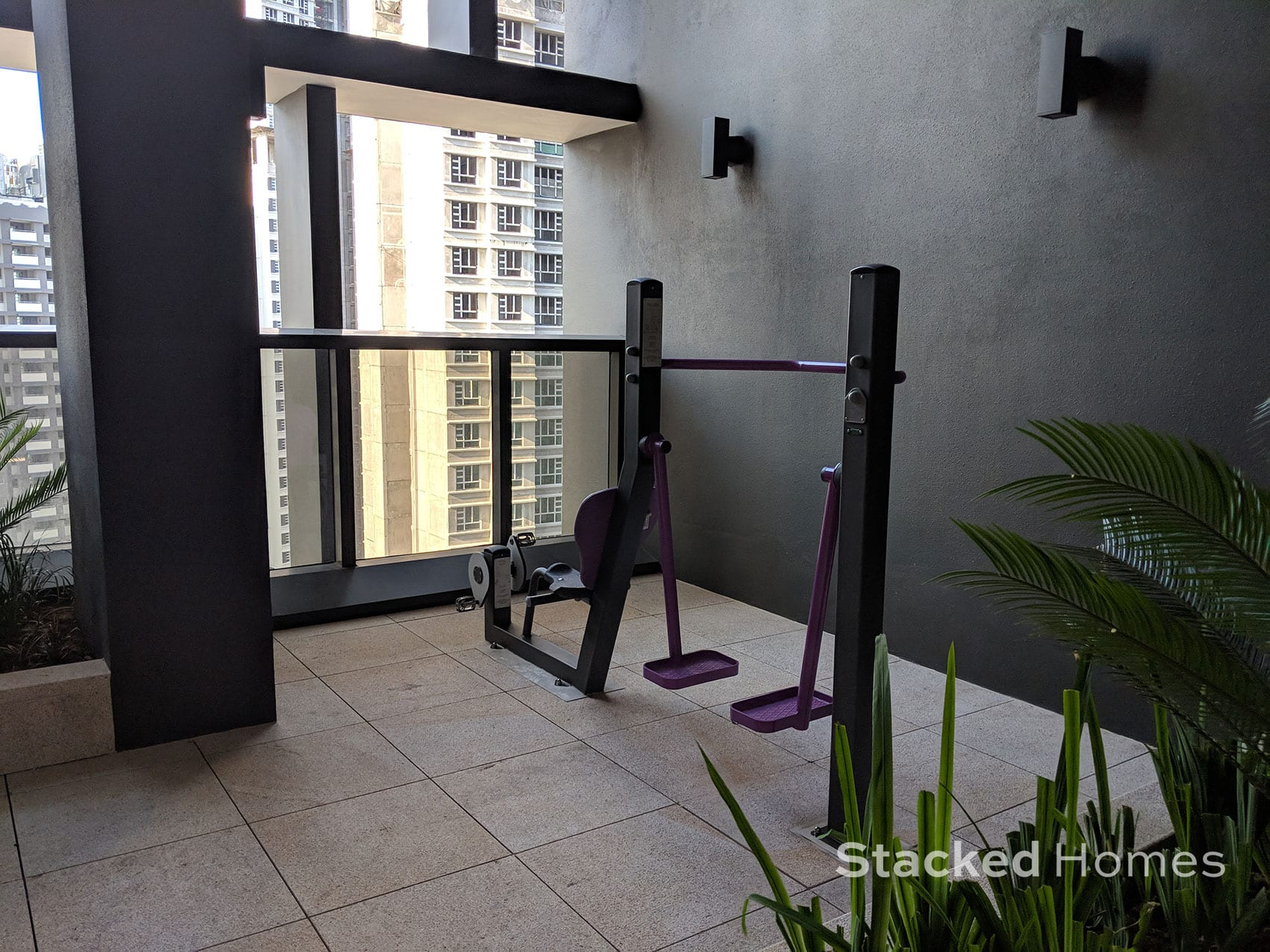commonwealth towers outdoor gym