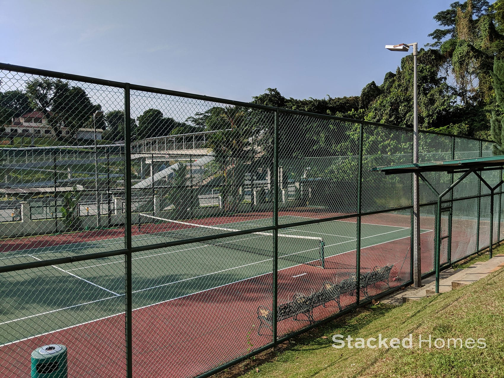 pine grove condo tennis court