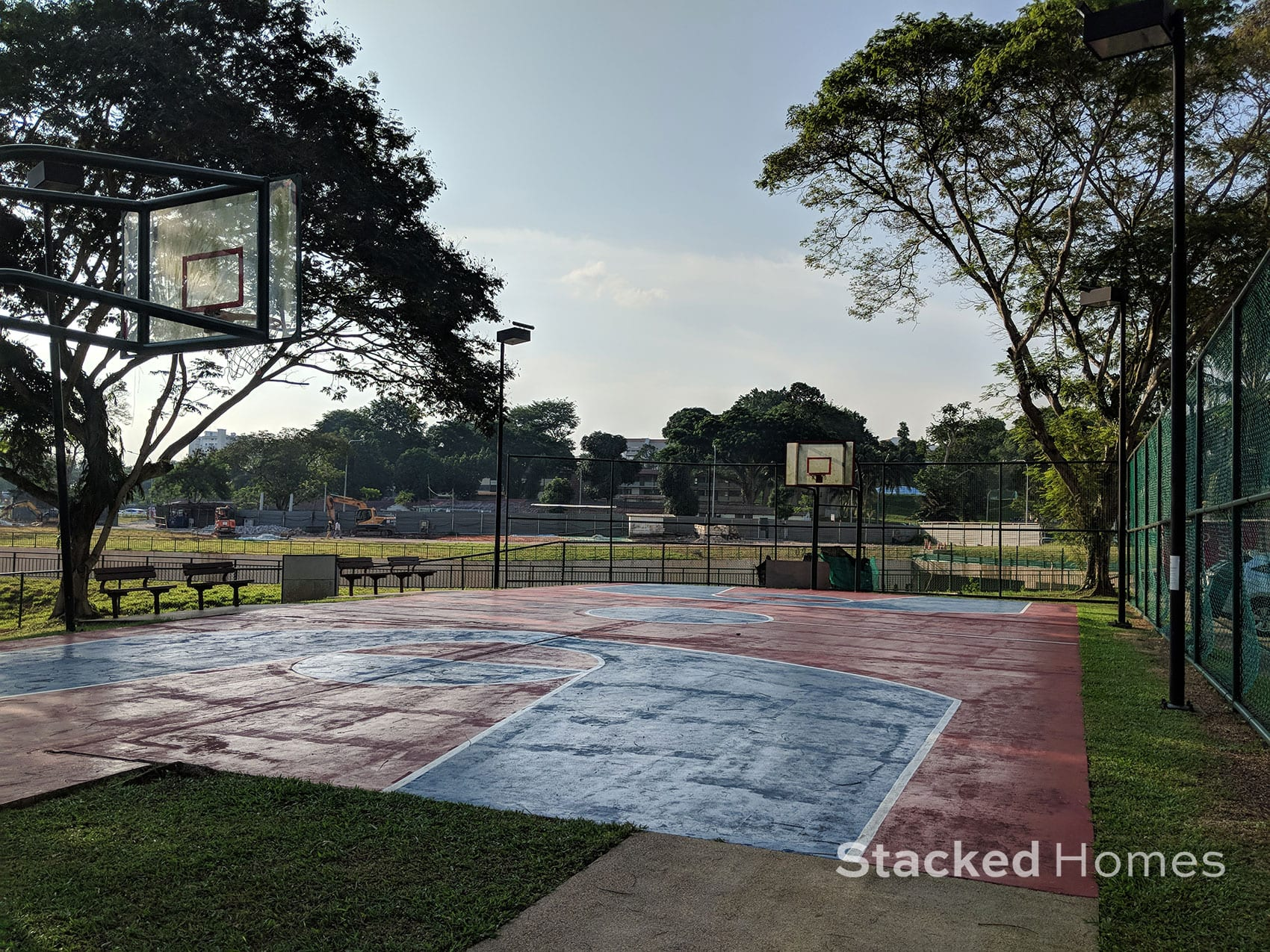pine grove condo basketball court