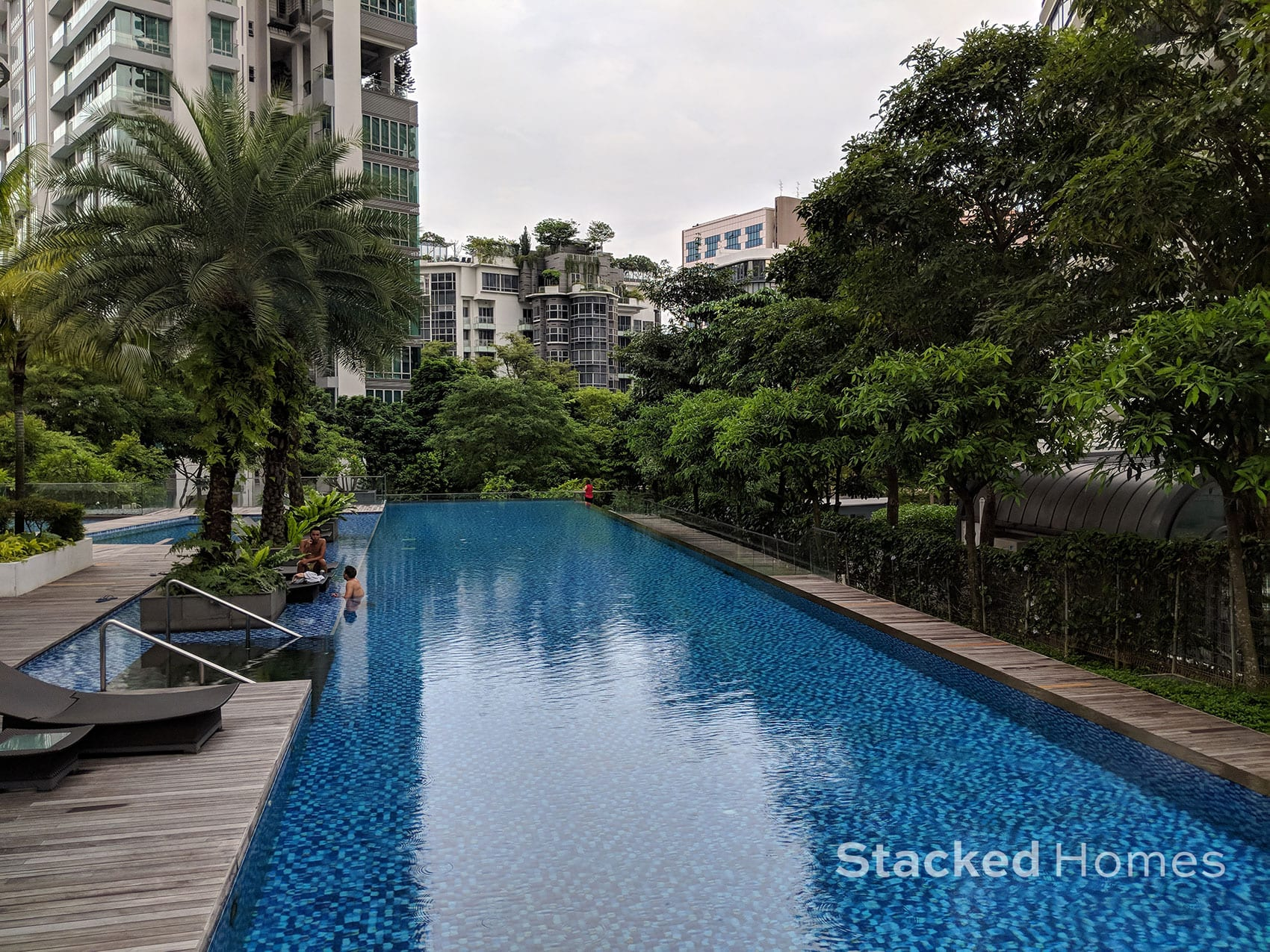 espada condo swimming pool
