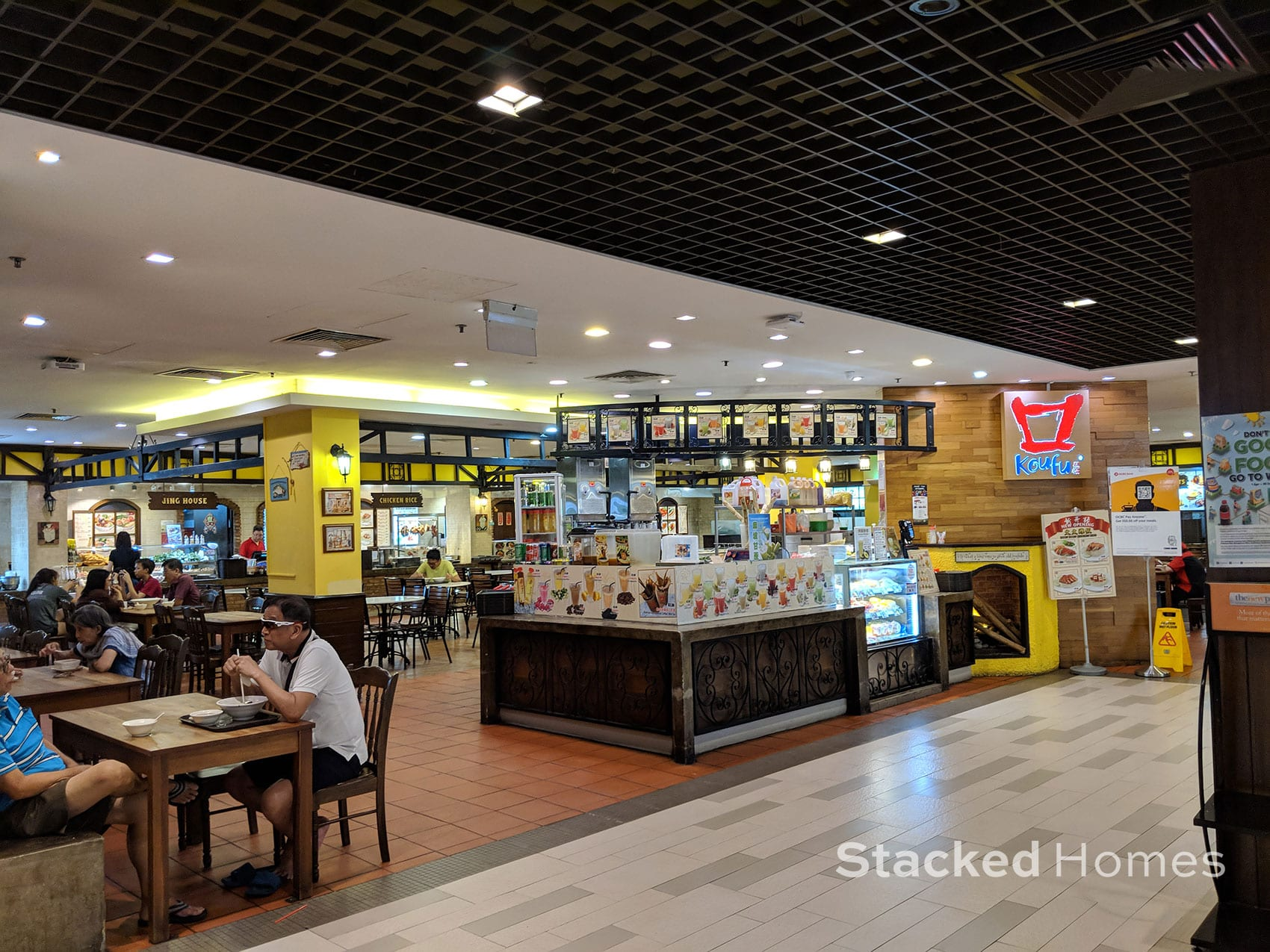 anchorpoint shopping centre food court