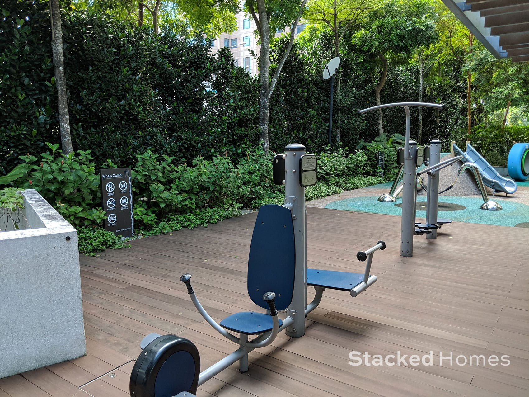 centennia suites fitness station