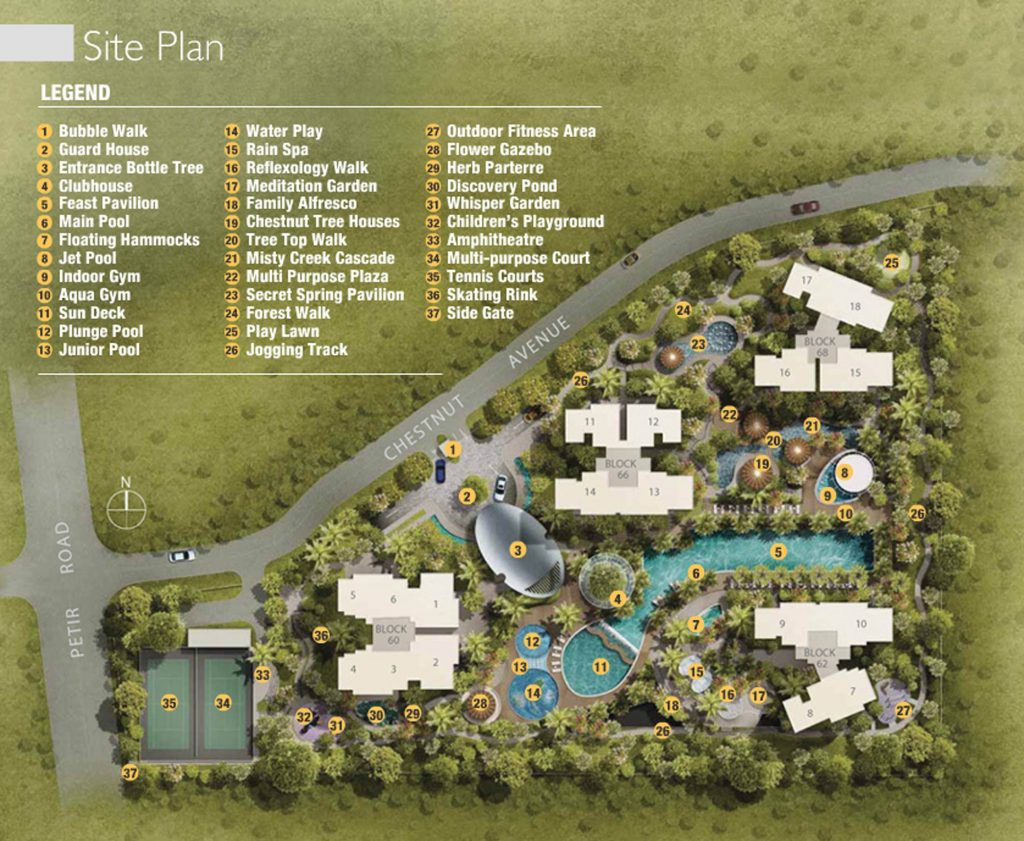 tree house condo site plan