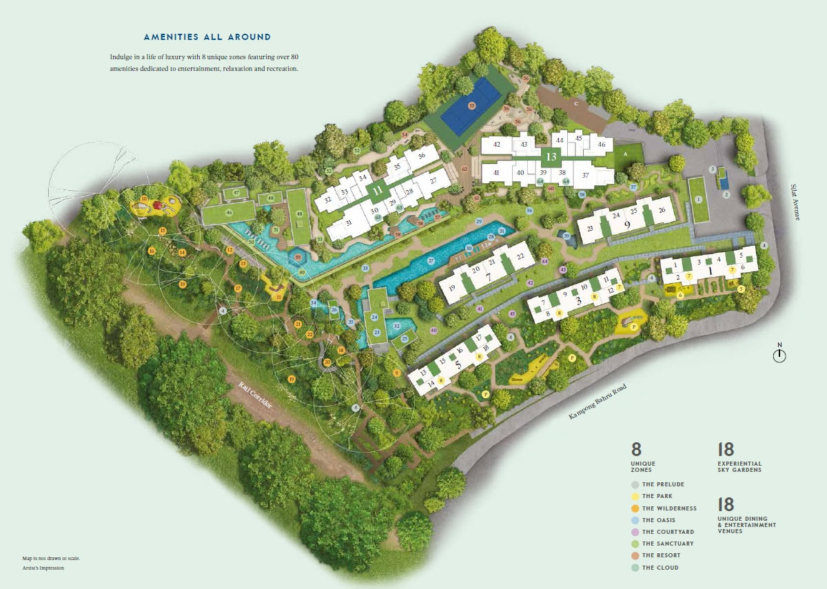 Avenue South Residence sitemap
