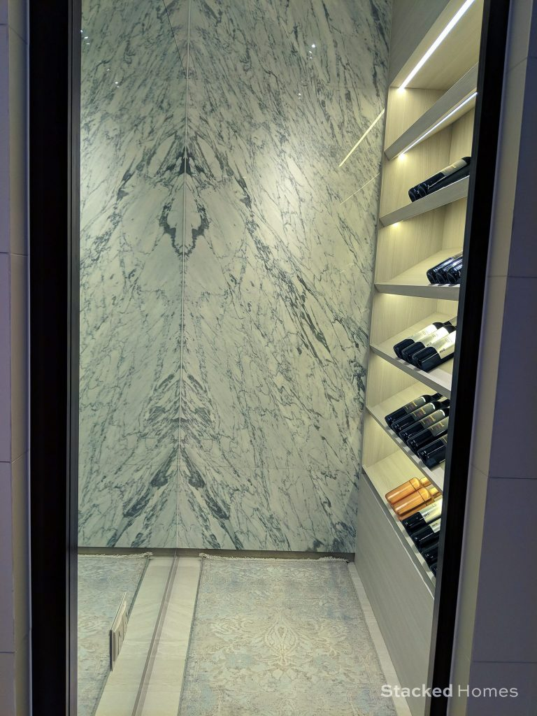 avenue south residence peak collection wine cellar