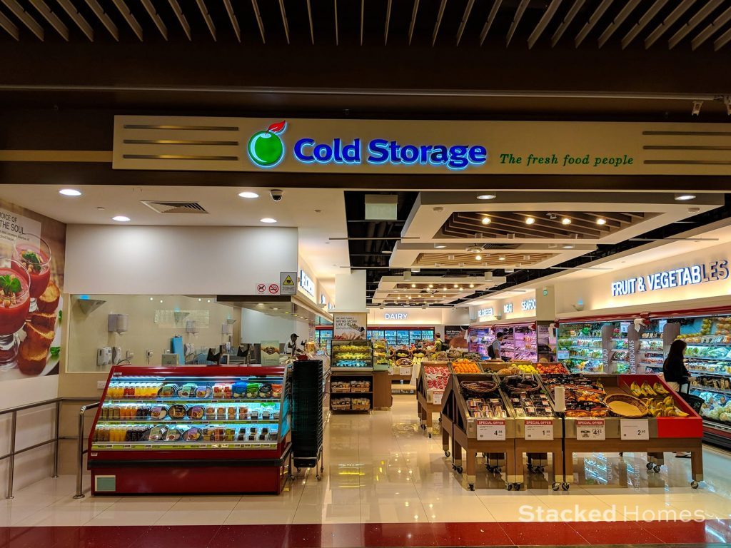 marina one residences cold storage