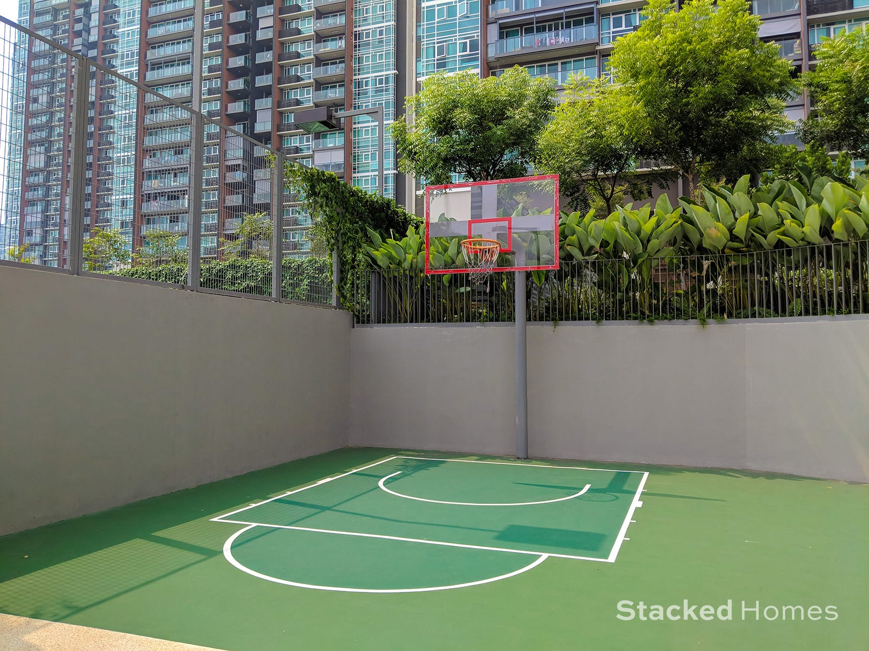 principal garden basketball court