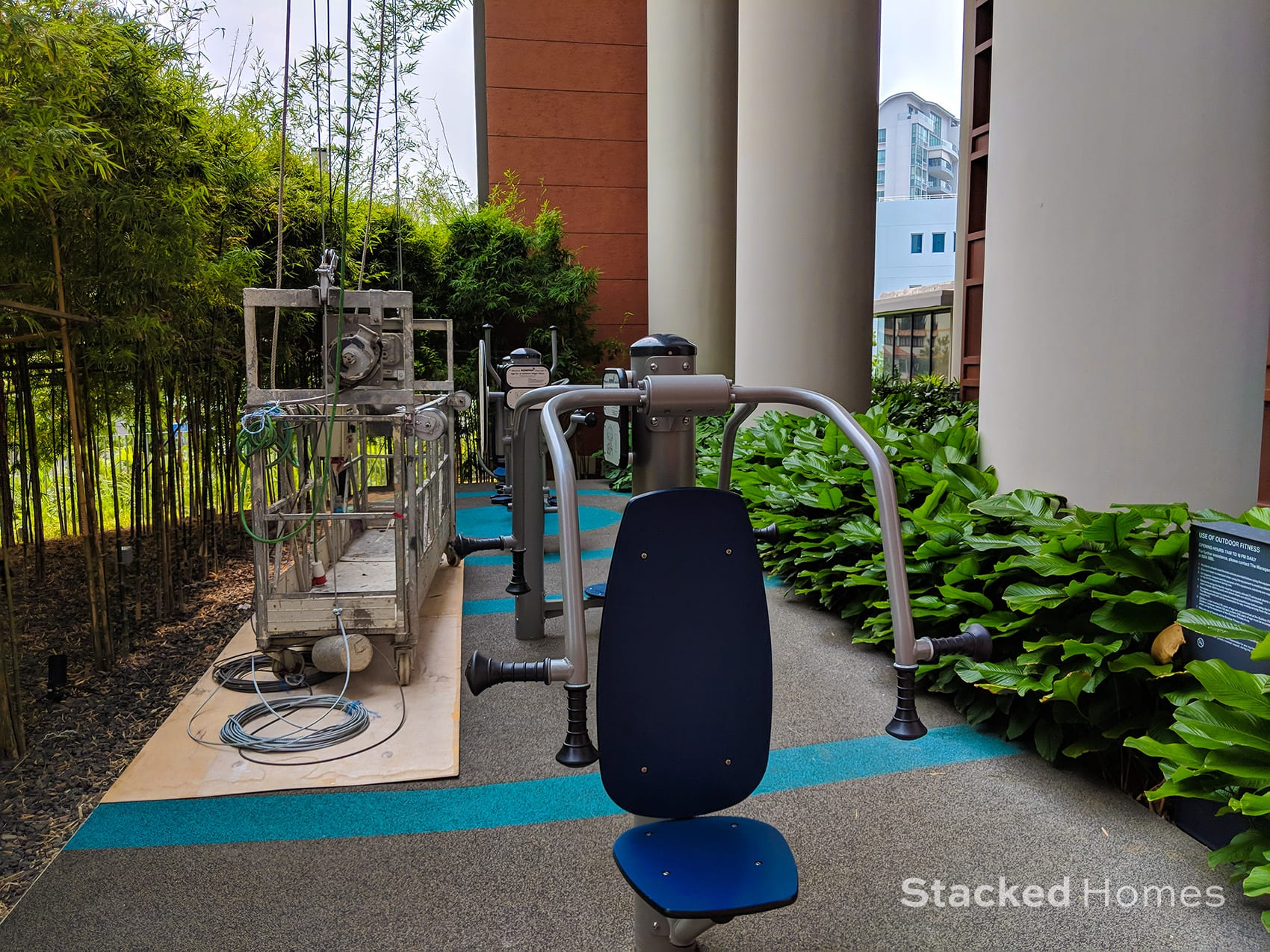 Principal garden outdoor fitness station