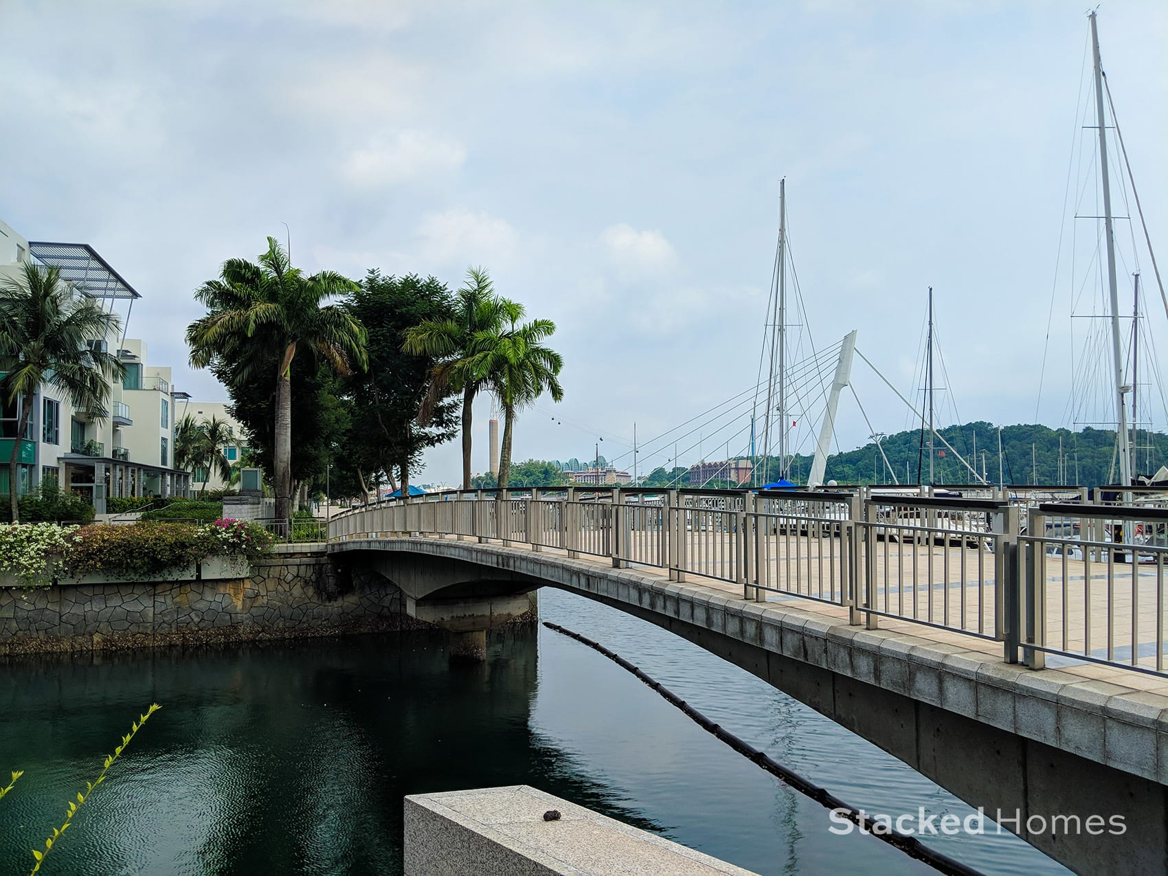 reflections at keppel bay bridge