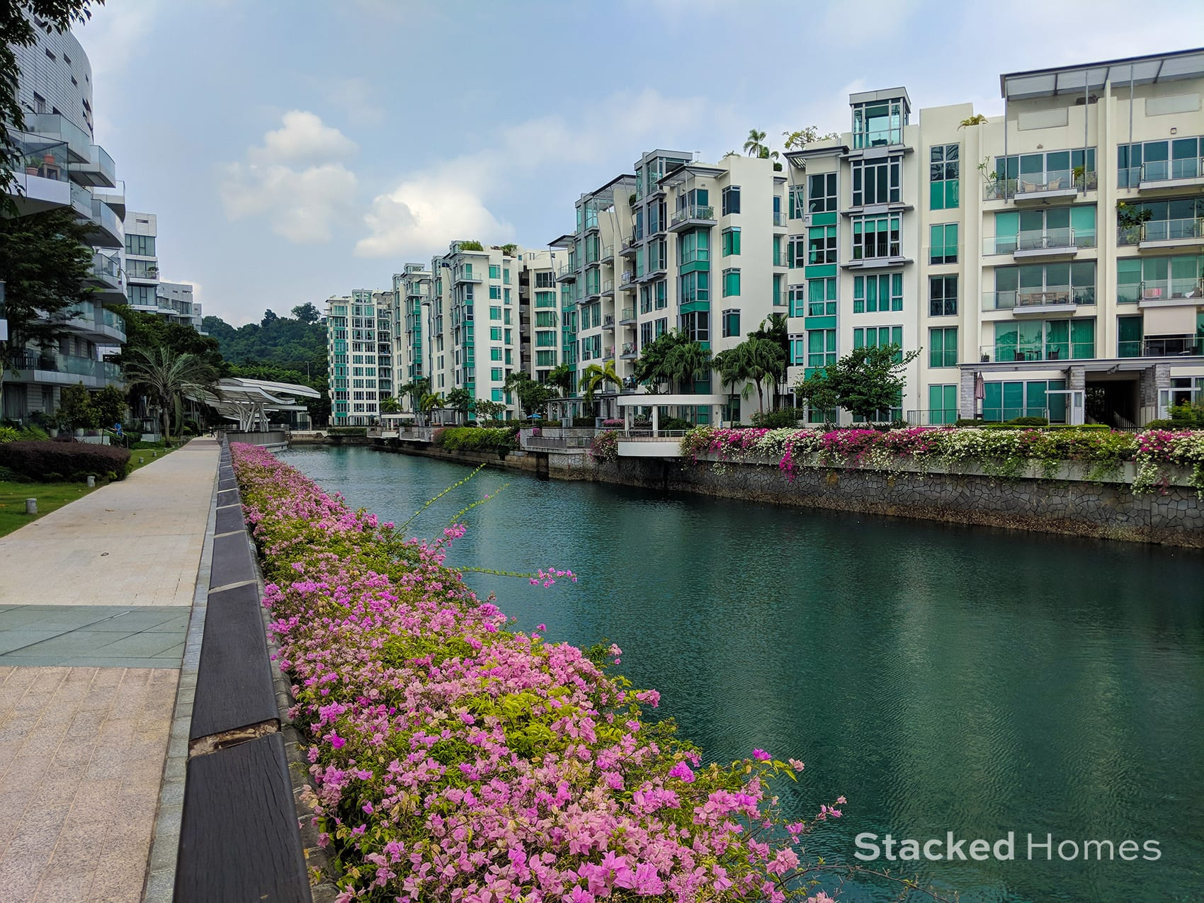 Reflections at Keppel Bay canal
