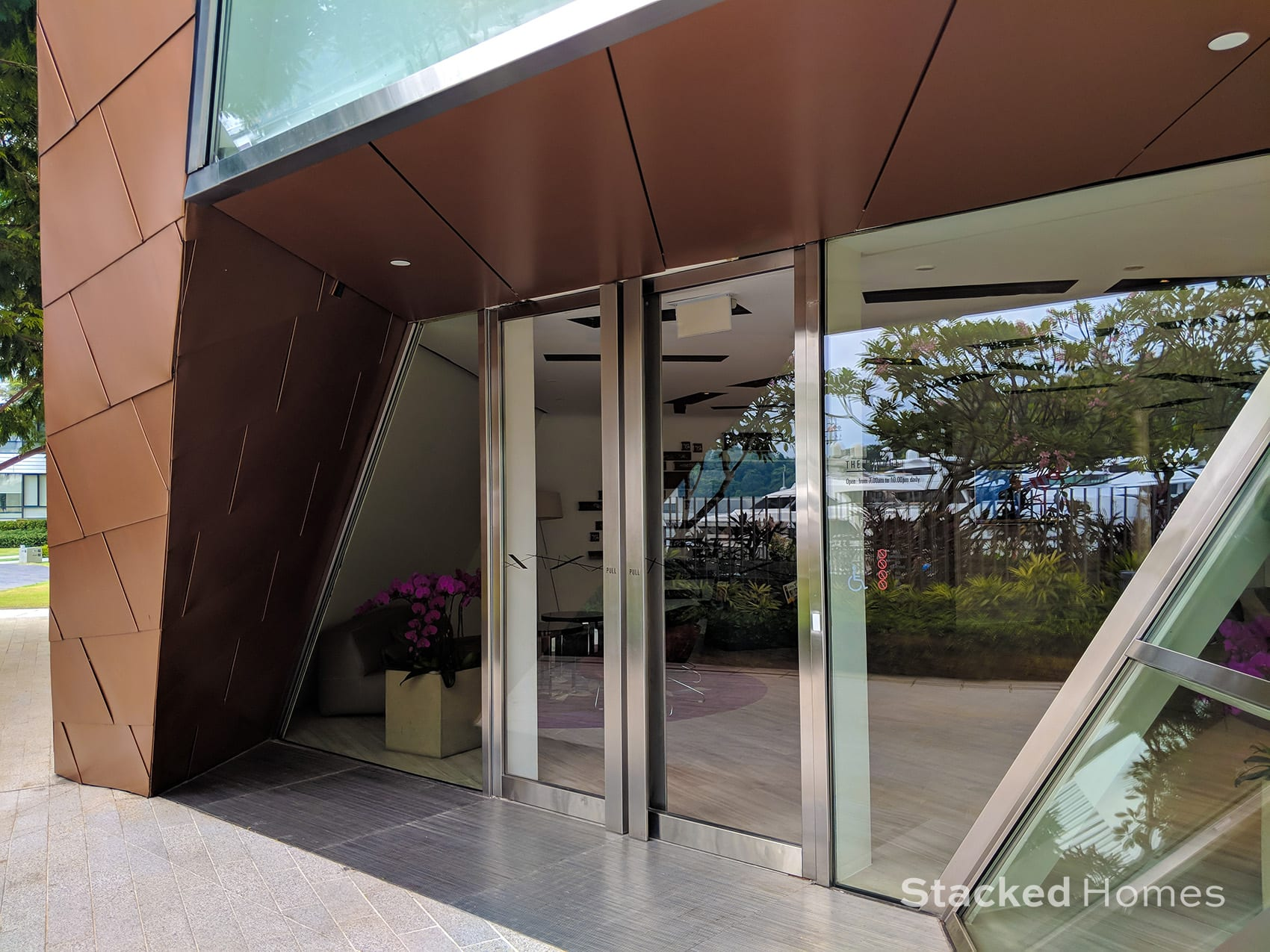 reflections at keppel bay clubhouse entrance