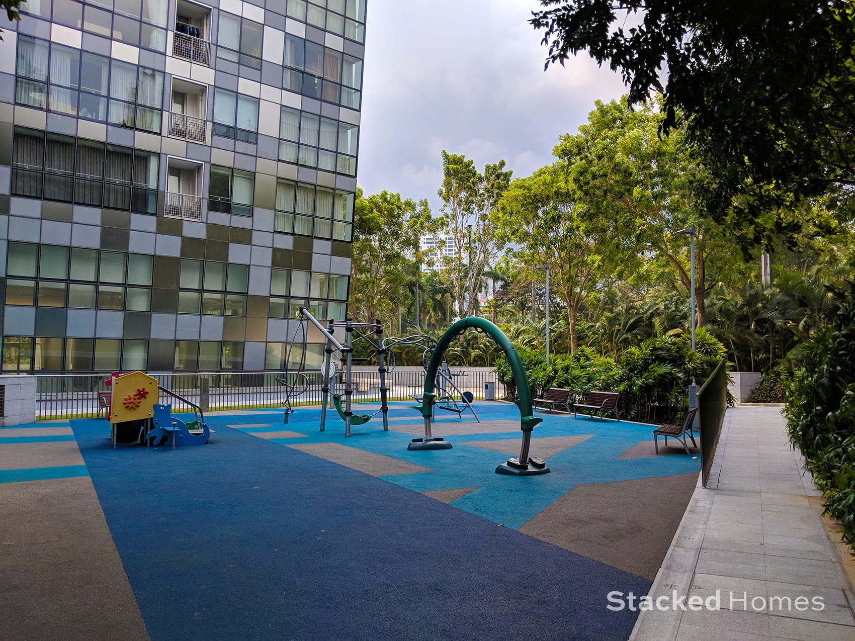 reflections at keppel bay playground