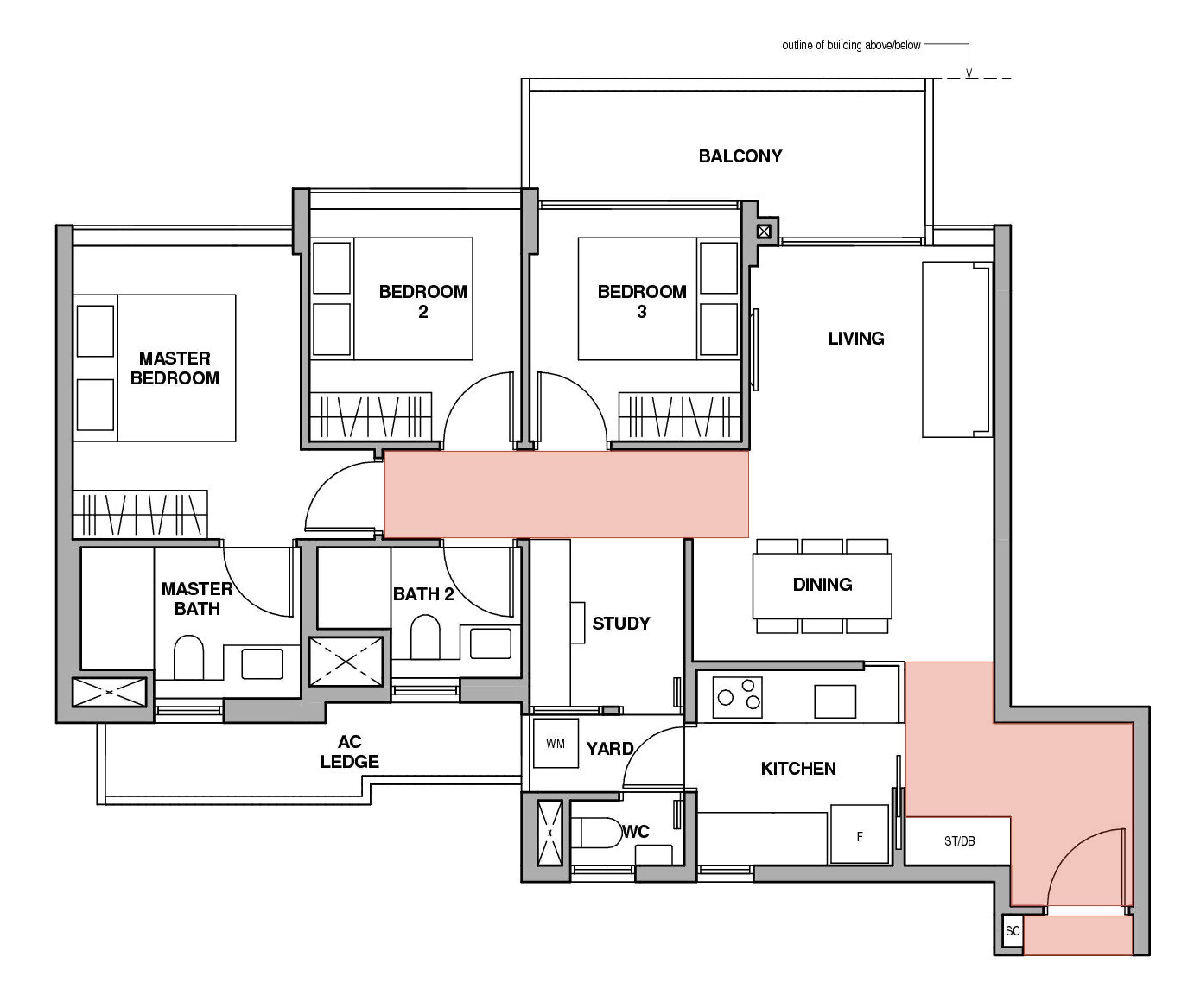 showflat floorplan inefficiencies