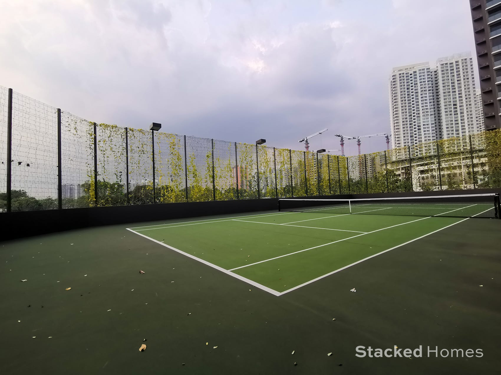clement canopy tennis court