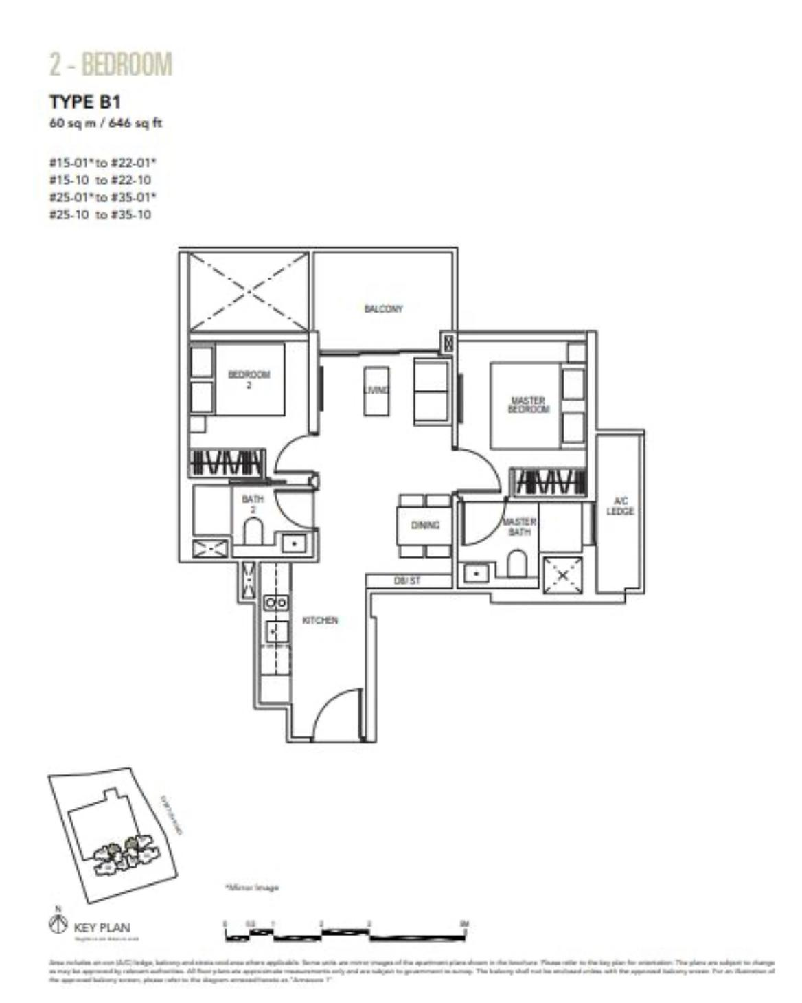 sky everton floor plan